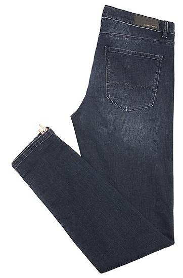 Skinny-Fit Jeans aus elastischem Baumwoll-Mix: ´Orange J10 Irvine`, Dunkelblau