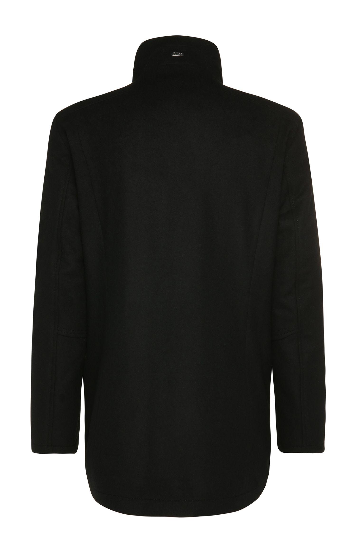 Regular-fit jas van een wolmix: 'X'