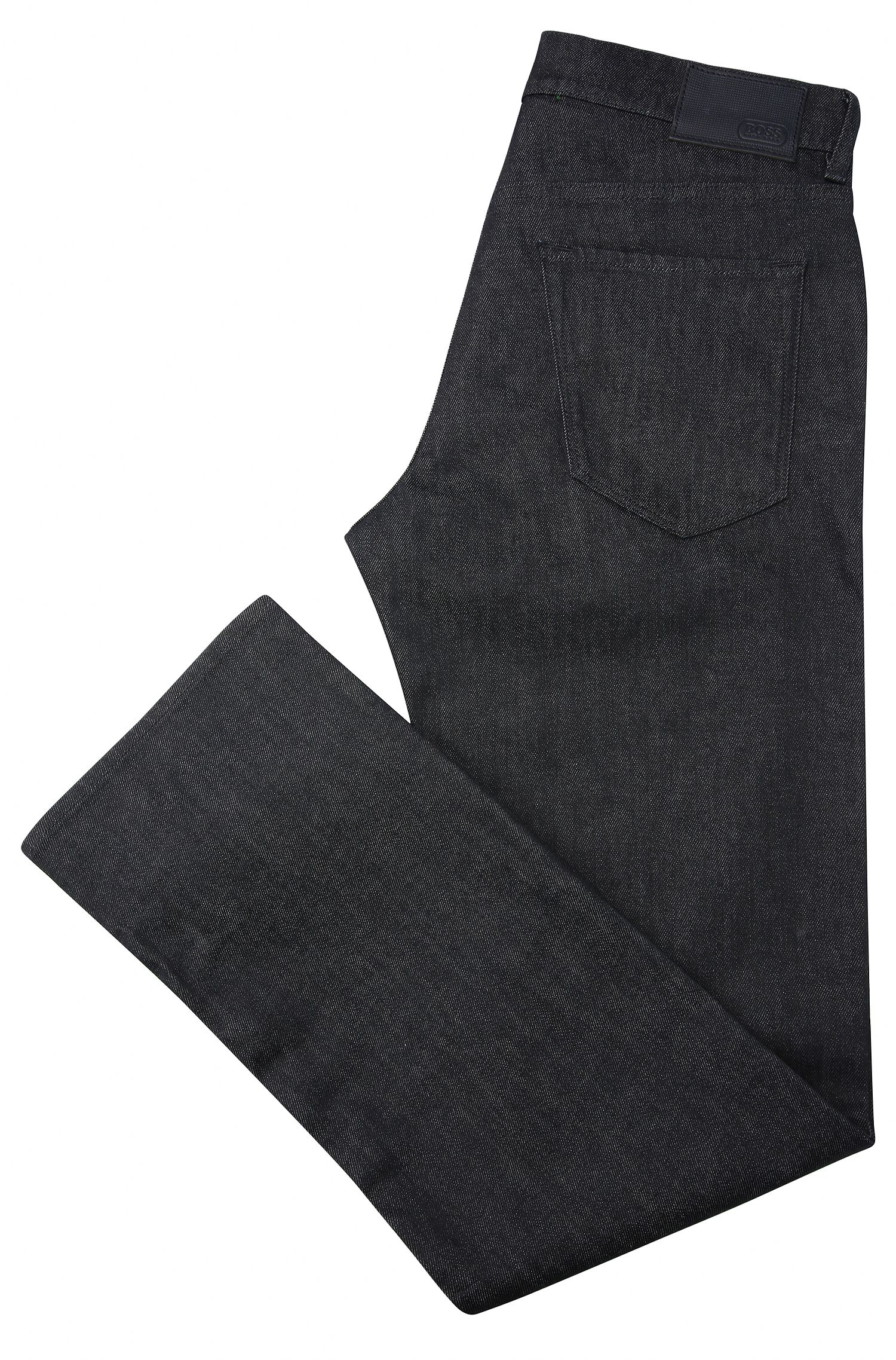 Jeans Regular Fit en coton extensible structuré : « C-MAINE1 »