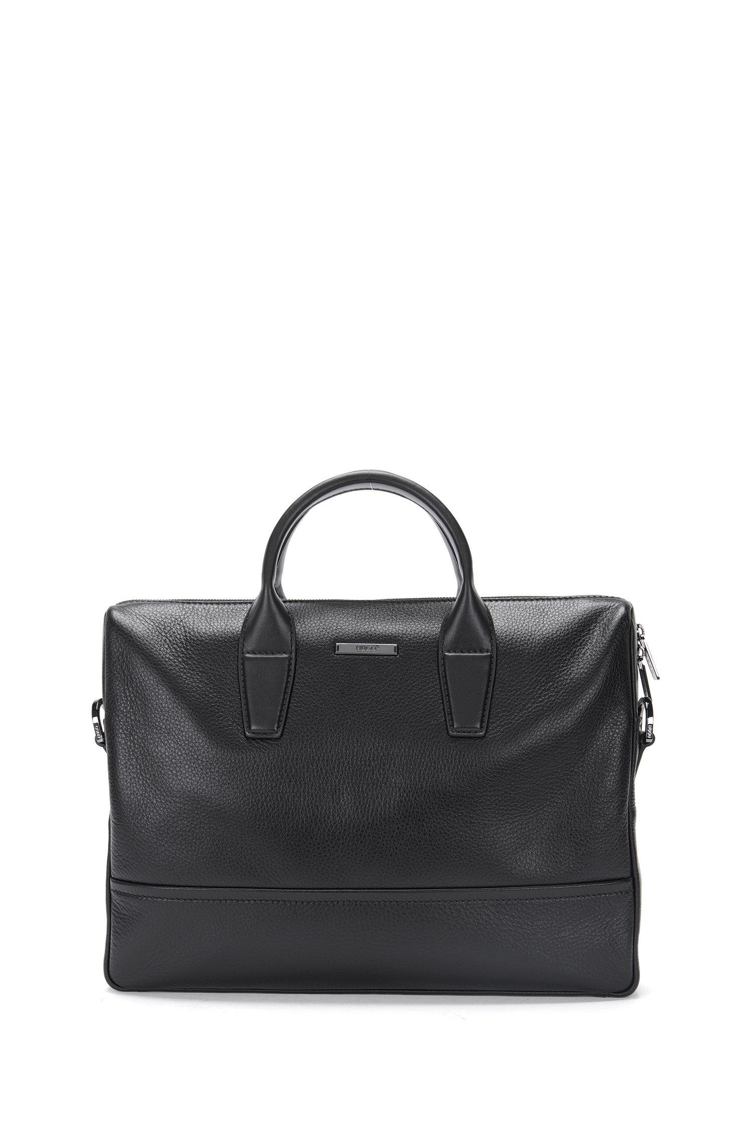 Workbag aus Leder mit abnehmbarem Schulterriemen: 'Element_S doc'