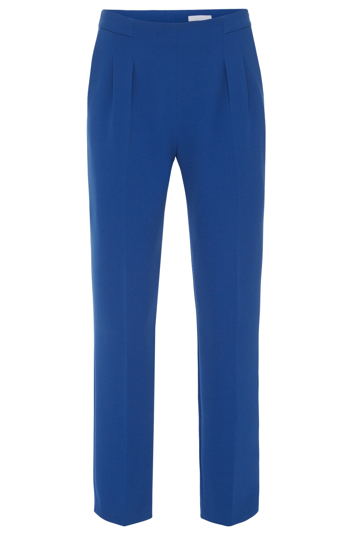 Relaxed-fit trousers with waist pleats: 'Tarima'