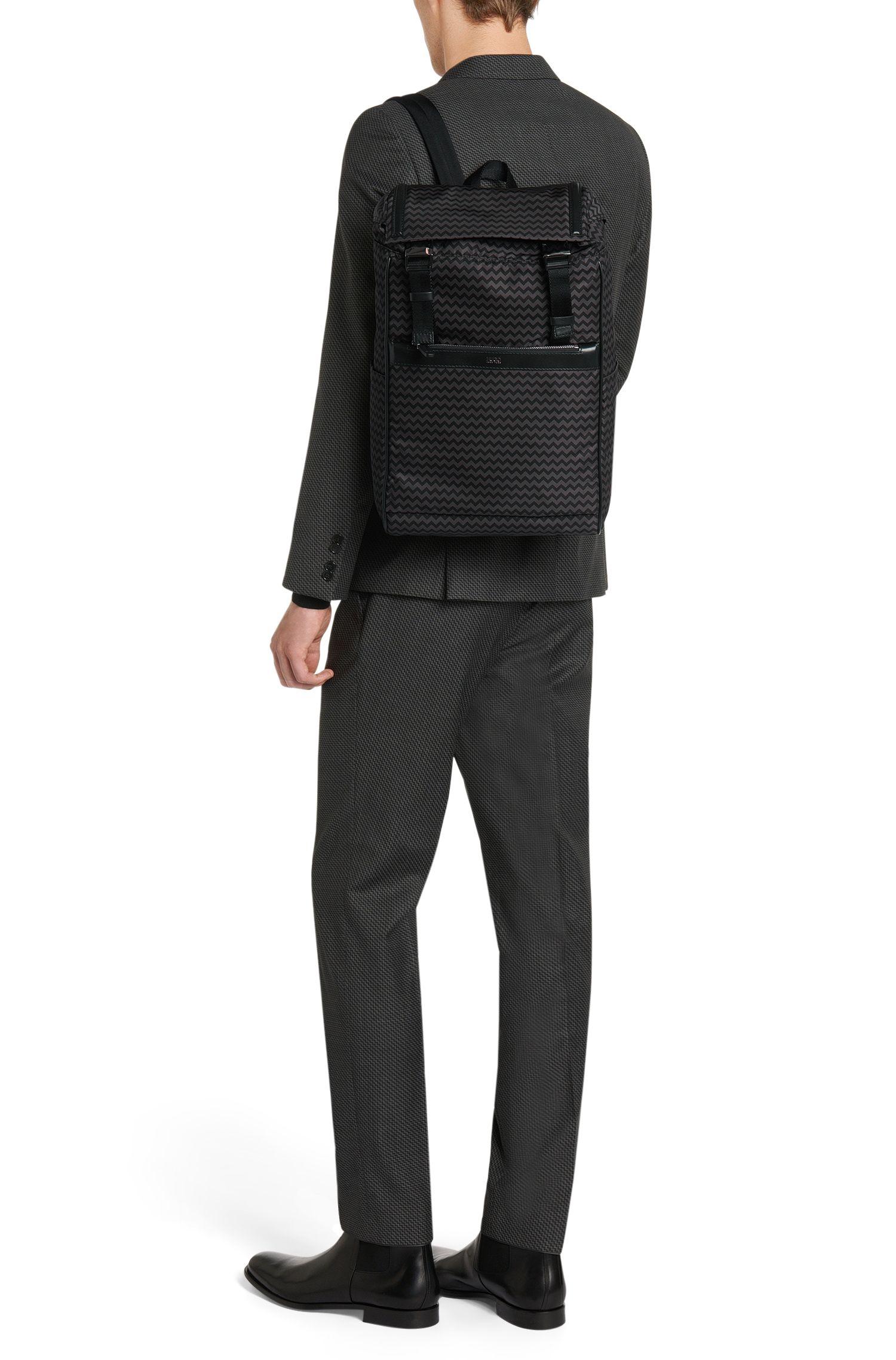 Rucksack mit Chevron-Muster: 'Digital L_Backpack P'