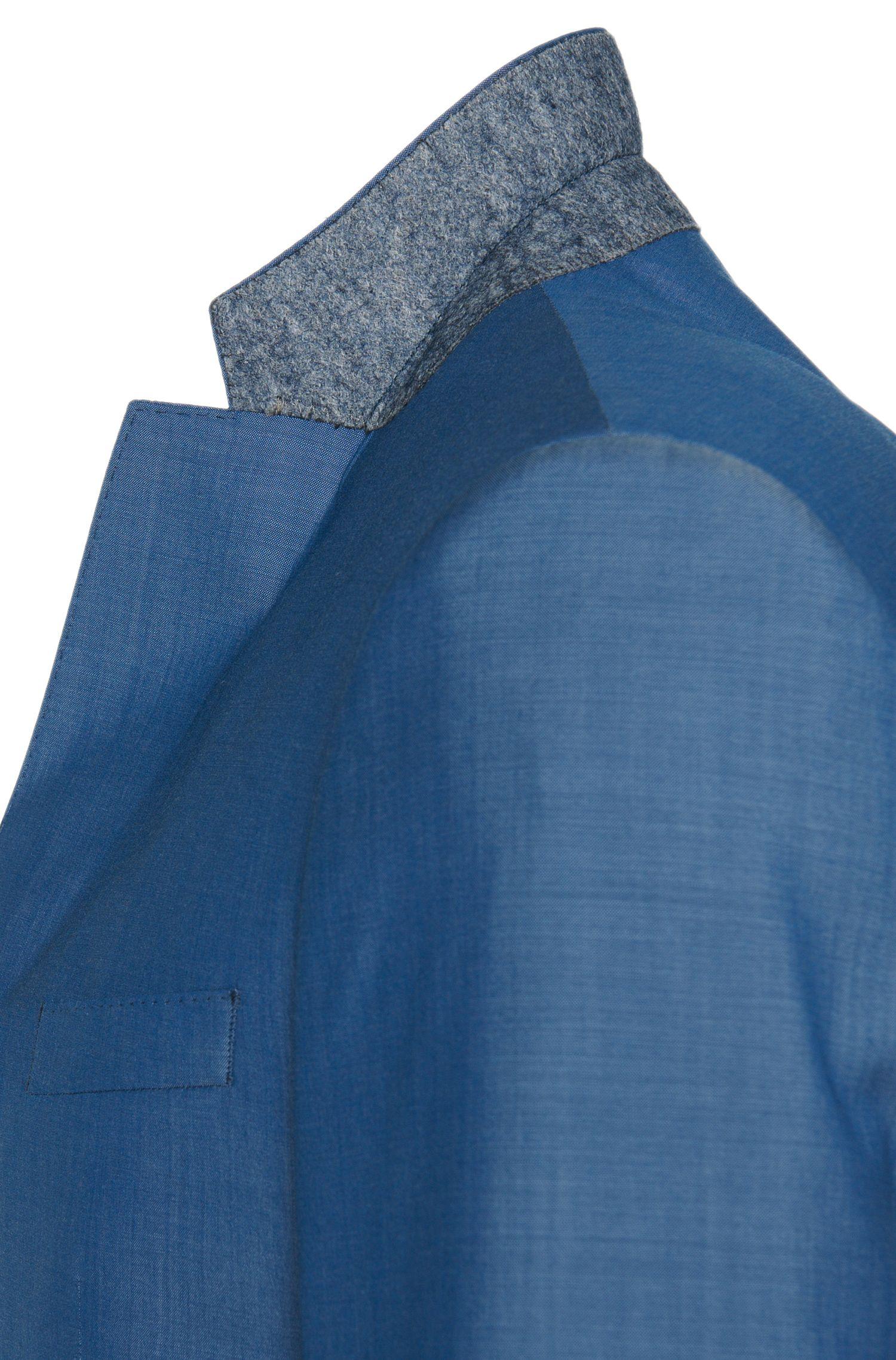 Costume Slim Fit finement chiné, en laine vierge: «Huge5/Genius3»