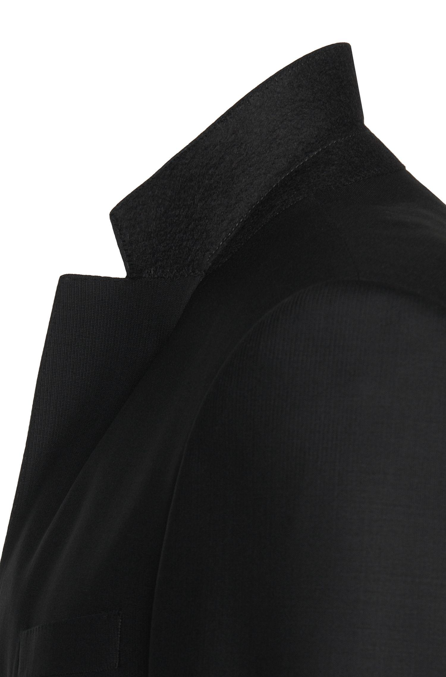 Slim-Fit Anzug mit Weste aus elastischem Schurwoll-Mix: 'Hamsen/Glenn WE'