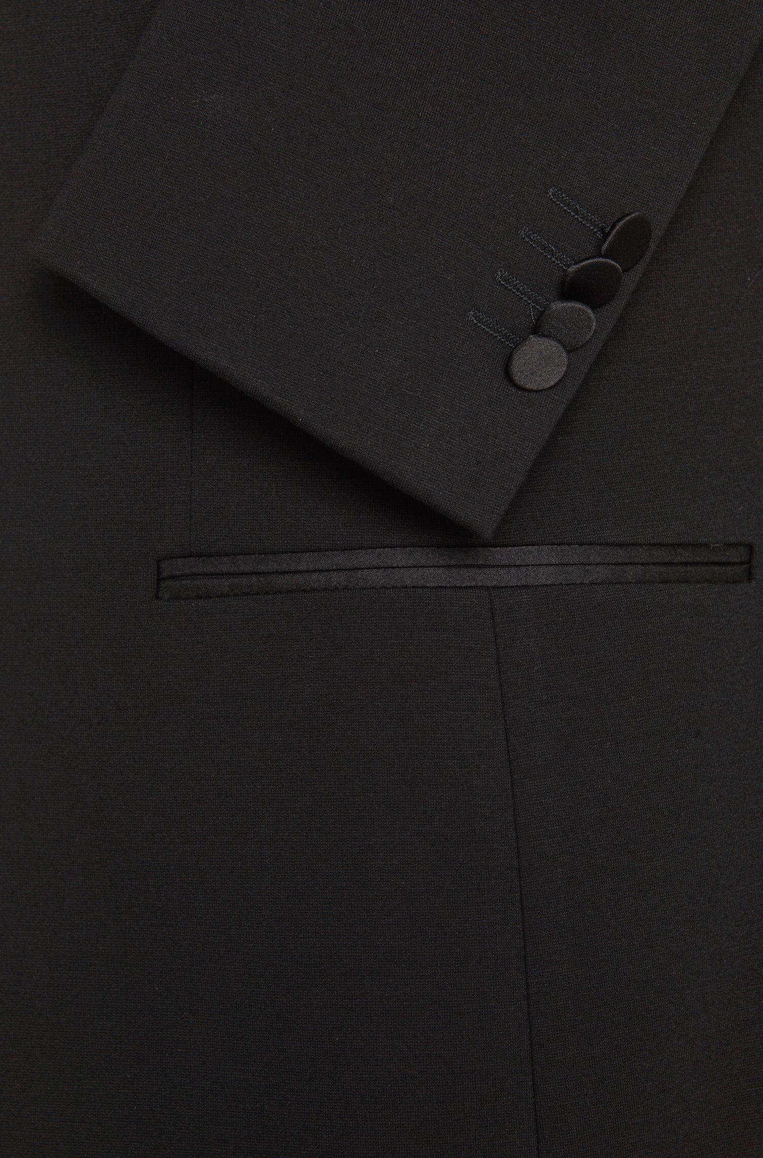 Extra Slim-Fit Smoking-Jacke aus Viskose-Mix: 'Reamen_1'