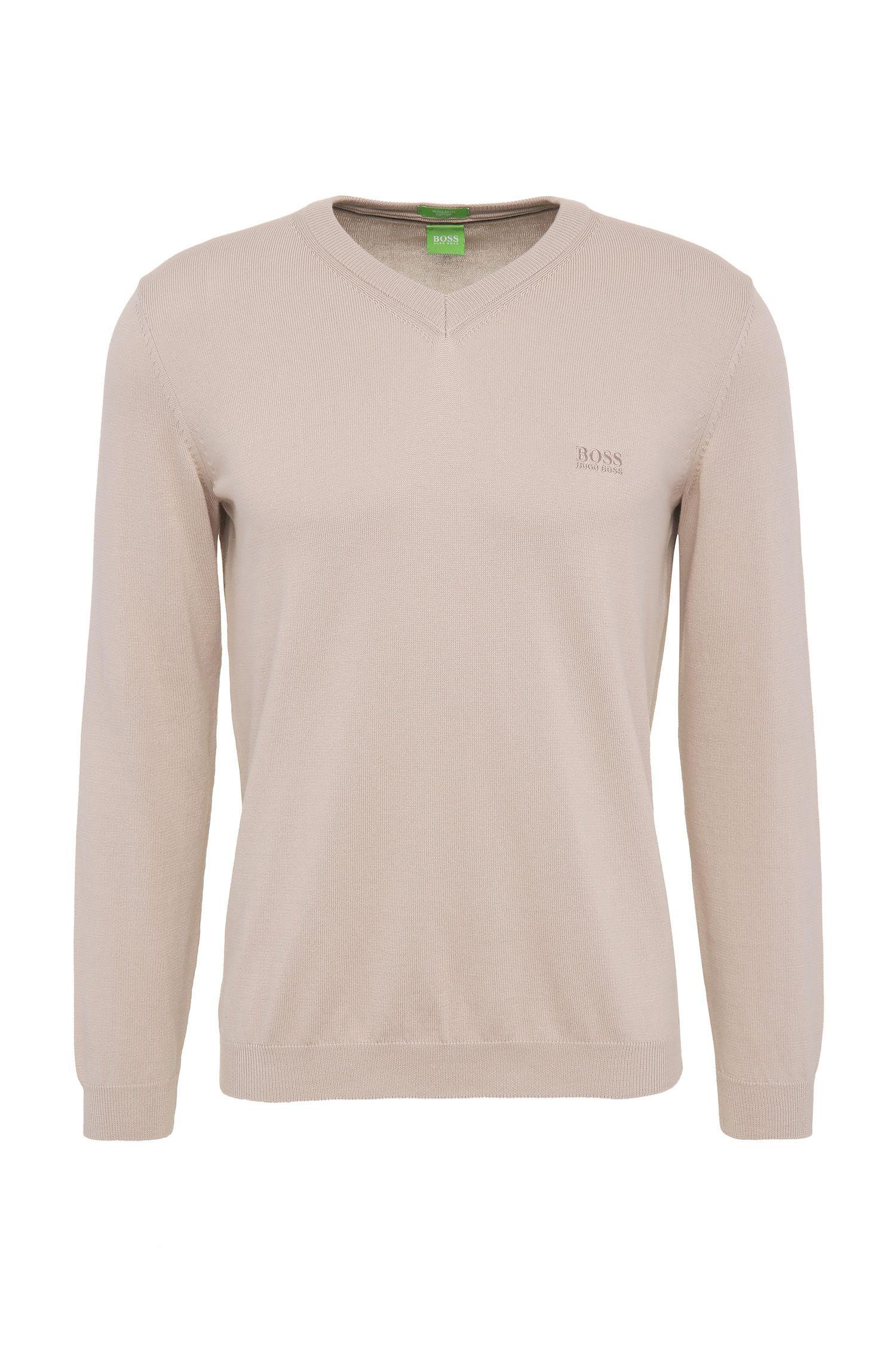 Regular-Fit Pullover aus Baumwollstrick: ´C-Carlton_02`
