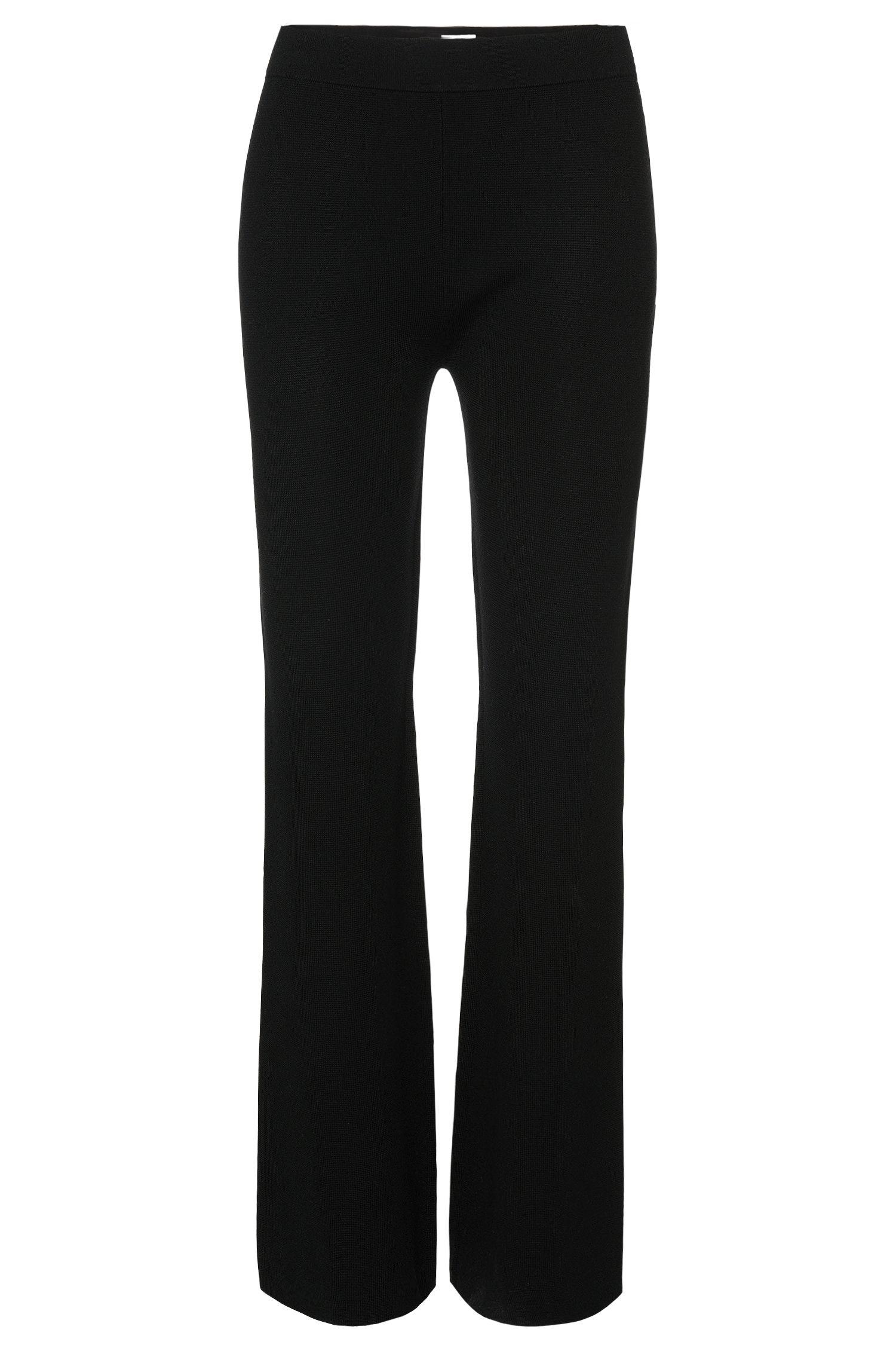 Pantaloni in maglia in lana vergine: 'Falali'