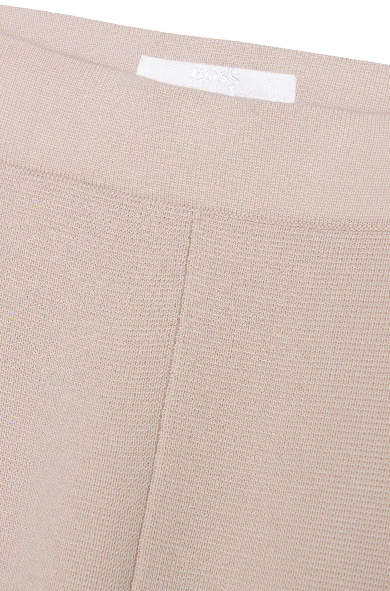 Gebreide broek van scheerwol: 'Falali'