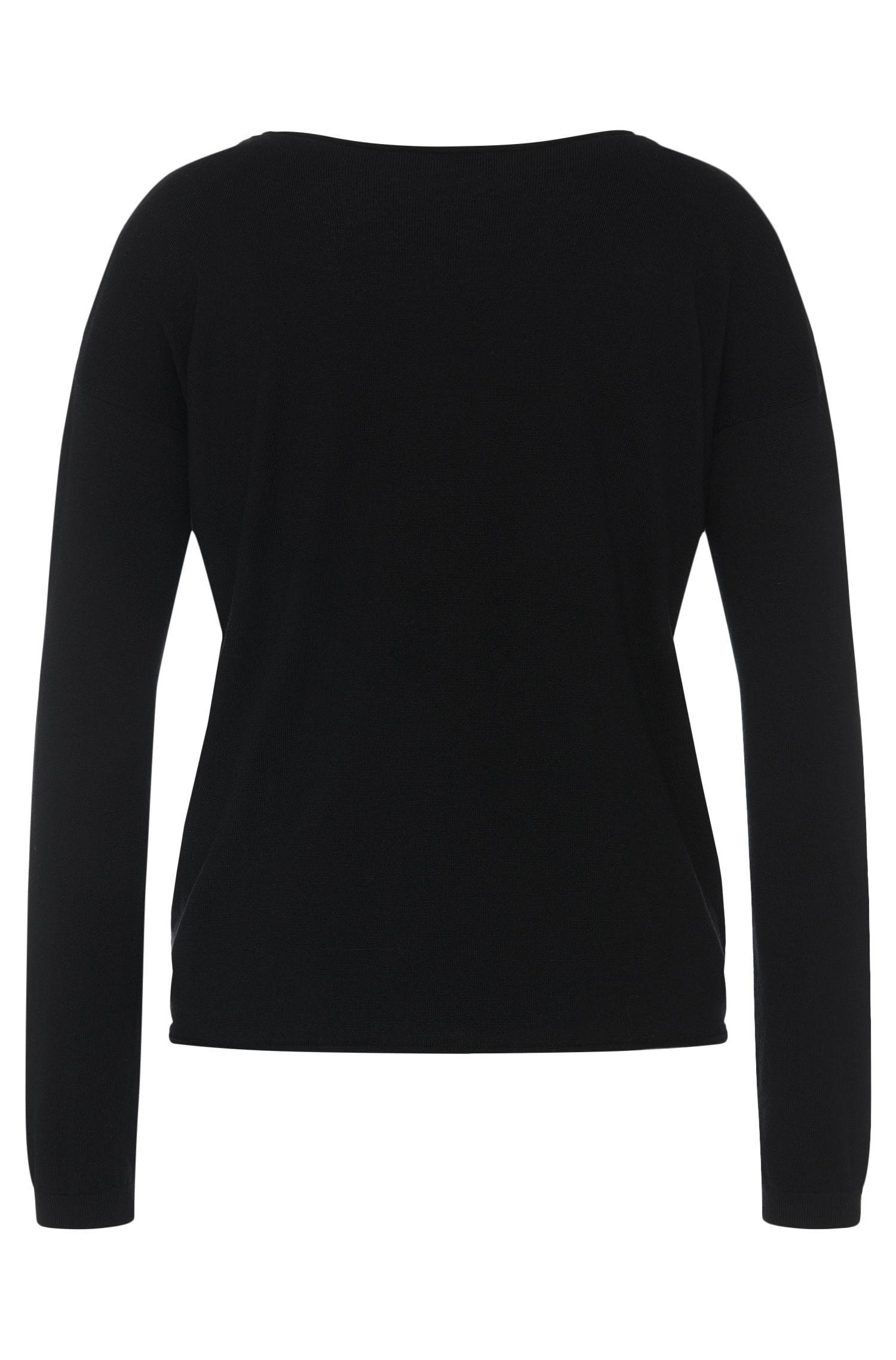 Pullover aus Baumwoll-Mix mit Seiden-Anteil: 'Smilaria'