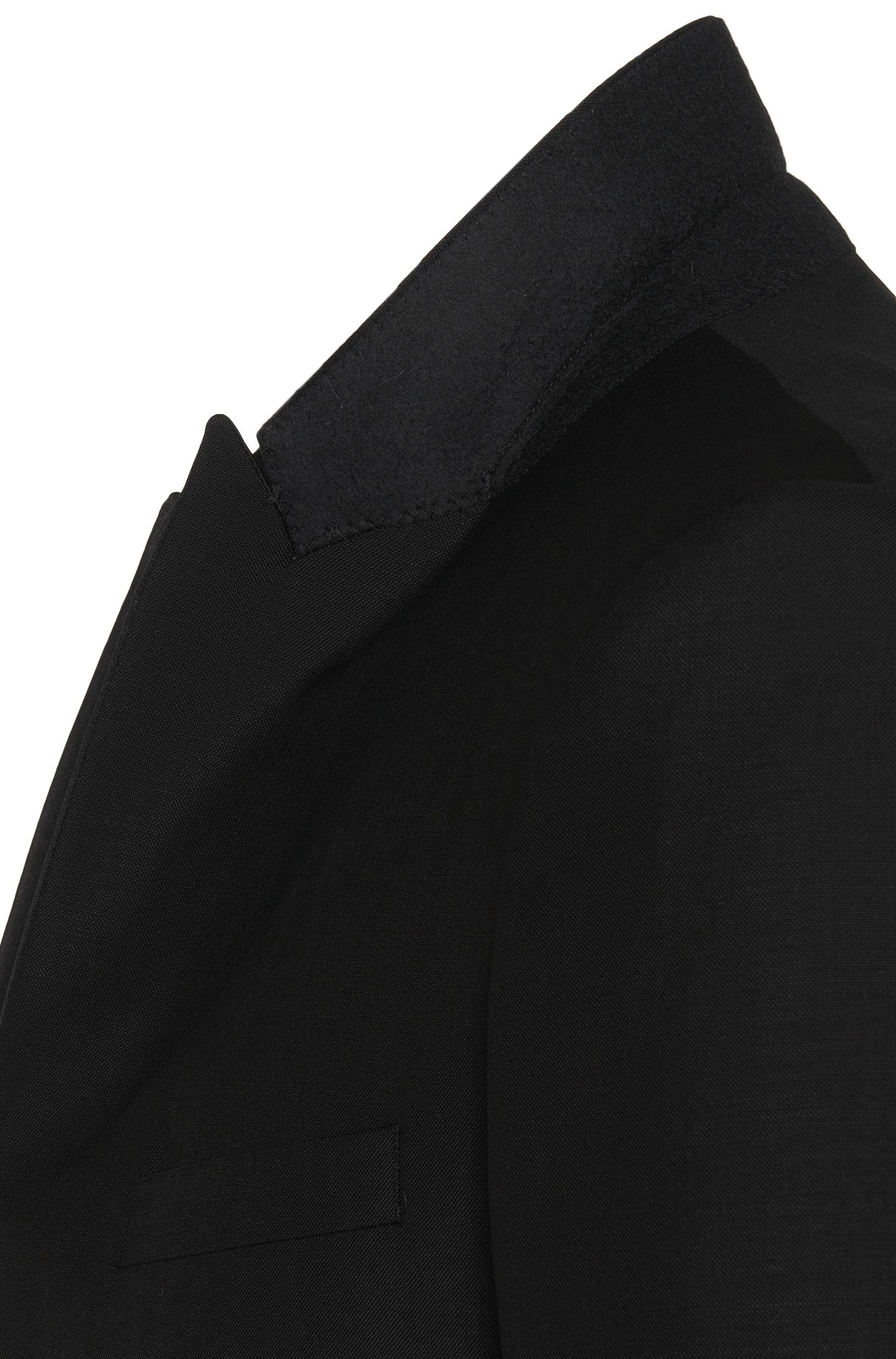 Veste de smoking Extra Slim Fit en laine vierge mélangée à teneur en mohair:  «Reysen/Weever»