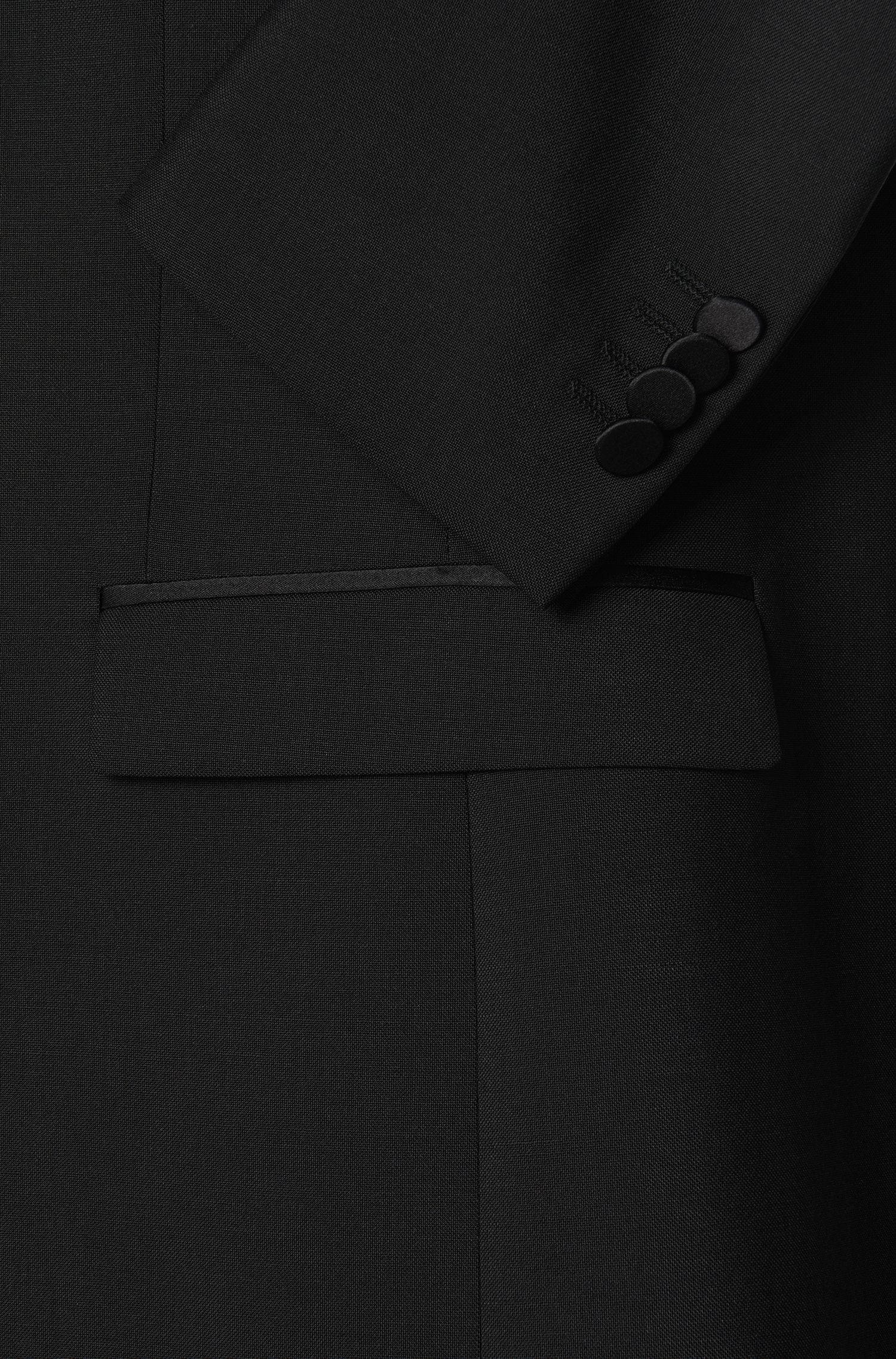 Extra Slim-Fit Smoking-Jacke aus Schurwoll-Mix mit Mohair: 'Reysen/Weever'