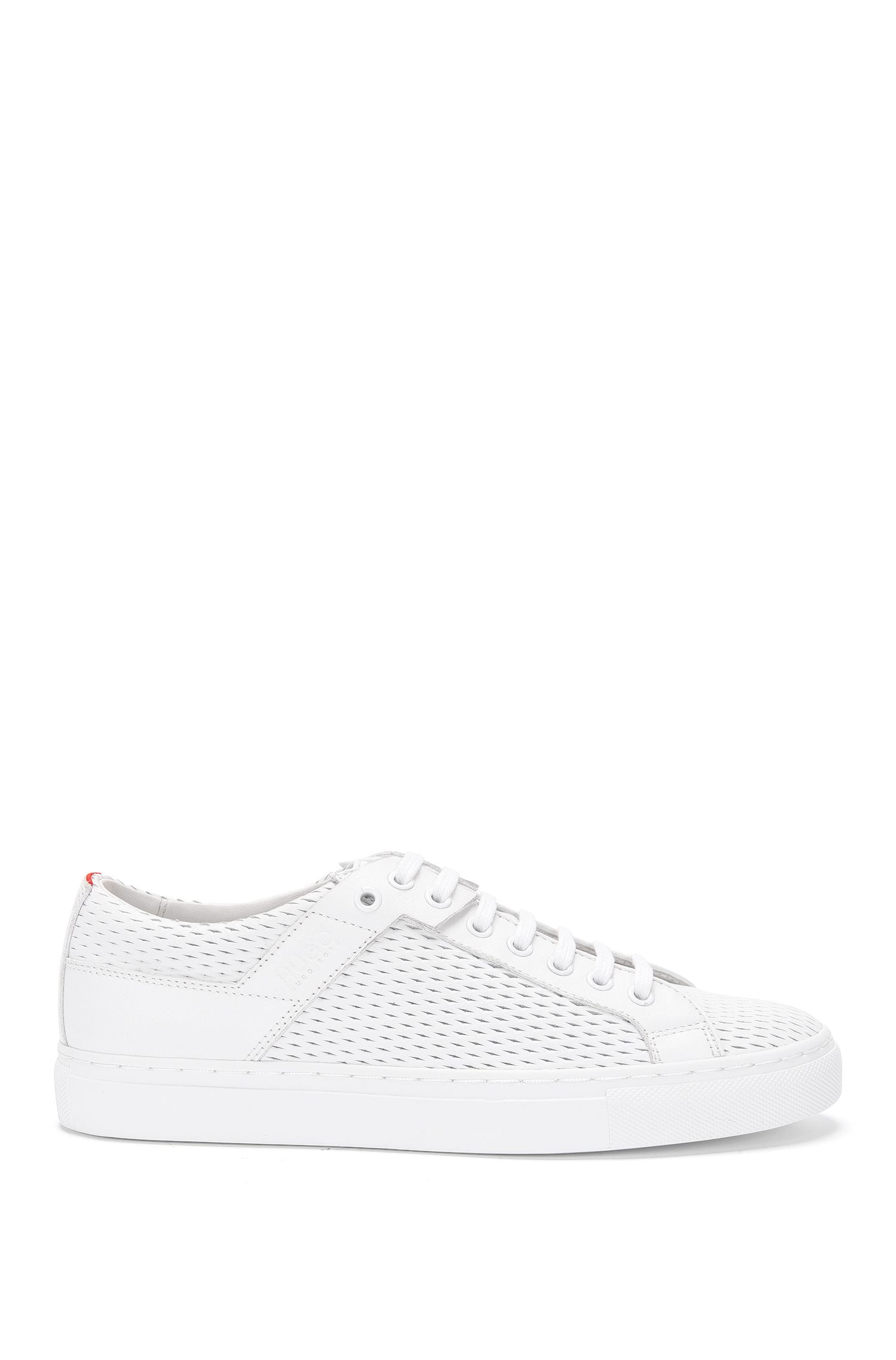 Sneakers in pelle traforata: 'Connie-P'