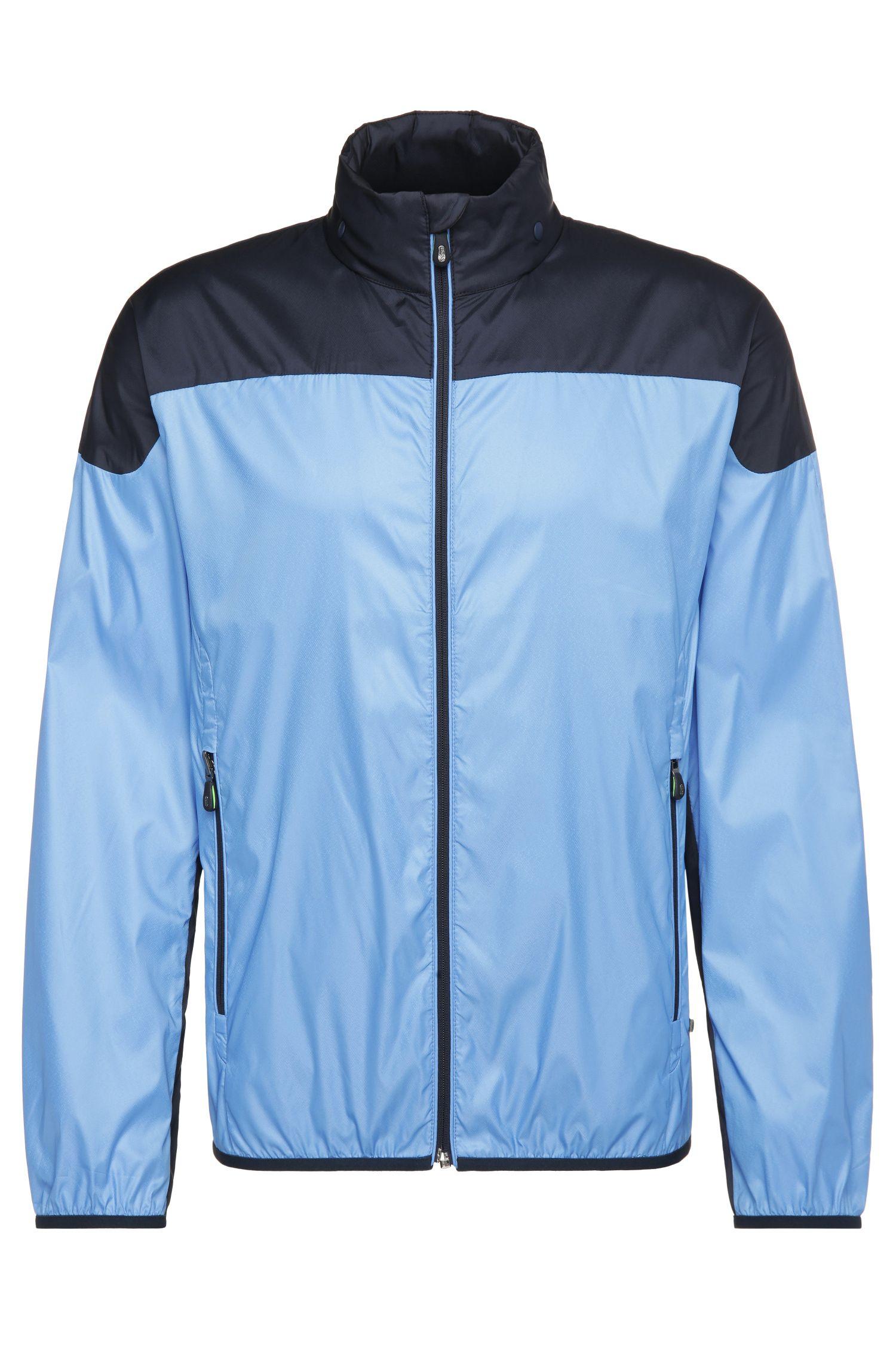 Foldable outdoor jacket in bomber jacket style: 'Jiano 2'