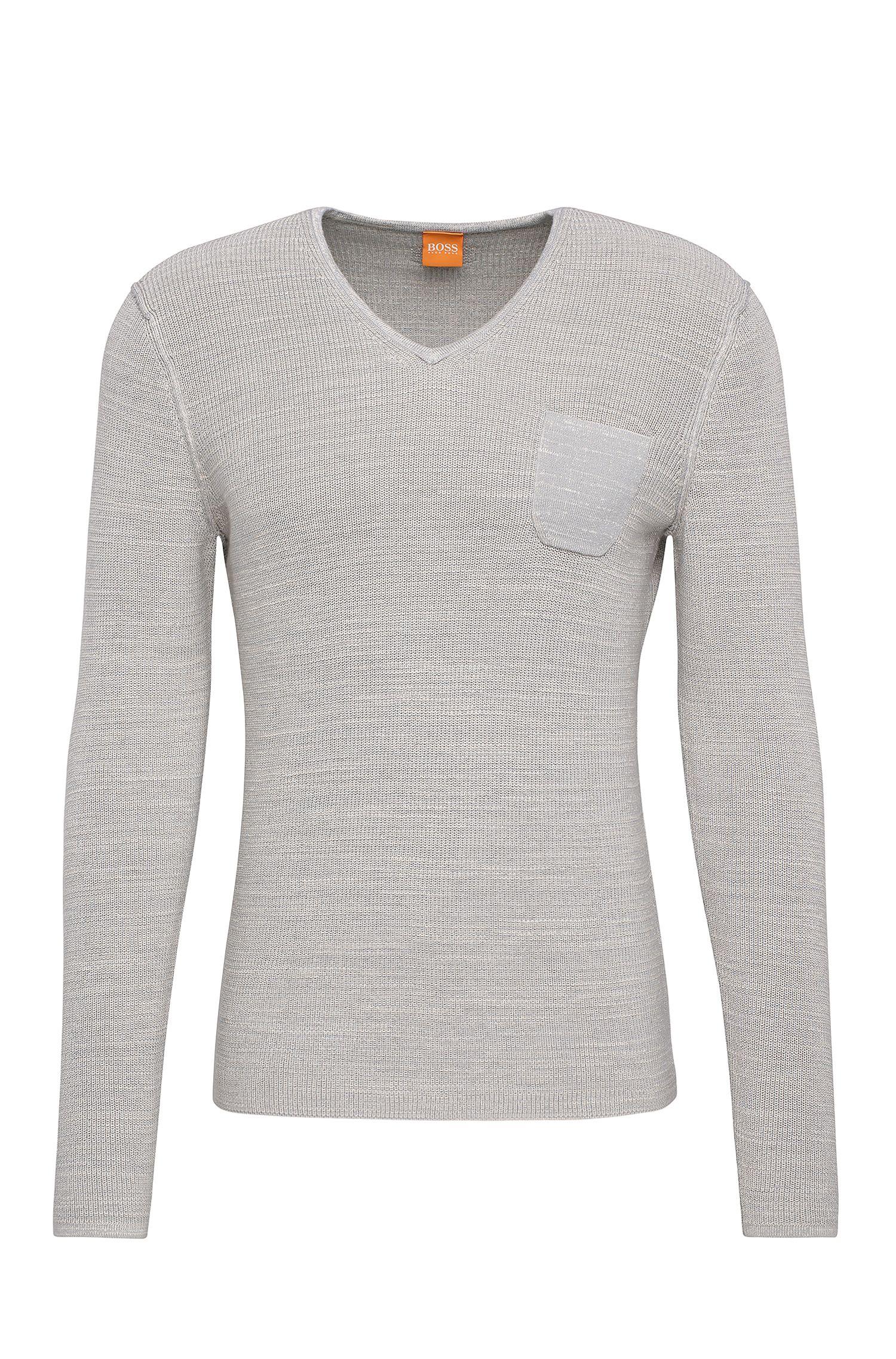 Jersey slim fit en algodón: 'Akatus'