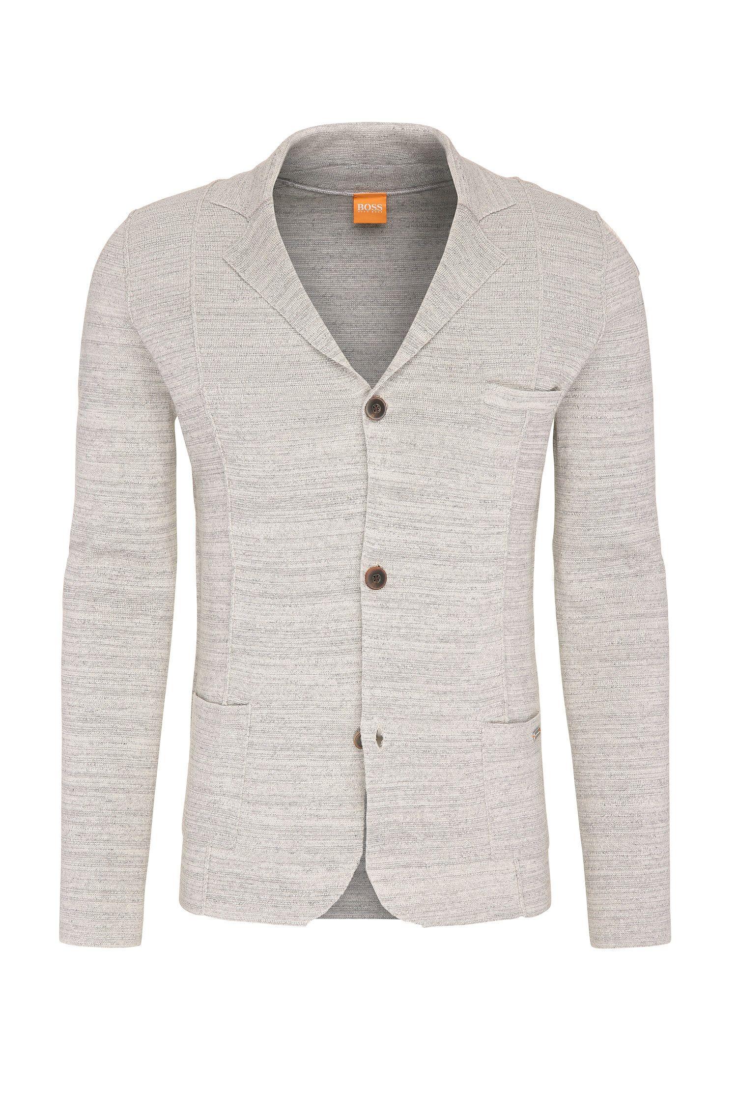 Gilet chiné en coton, de style blazer: «Akuyak»