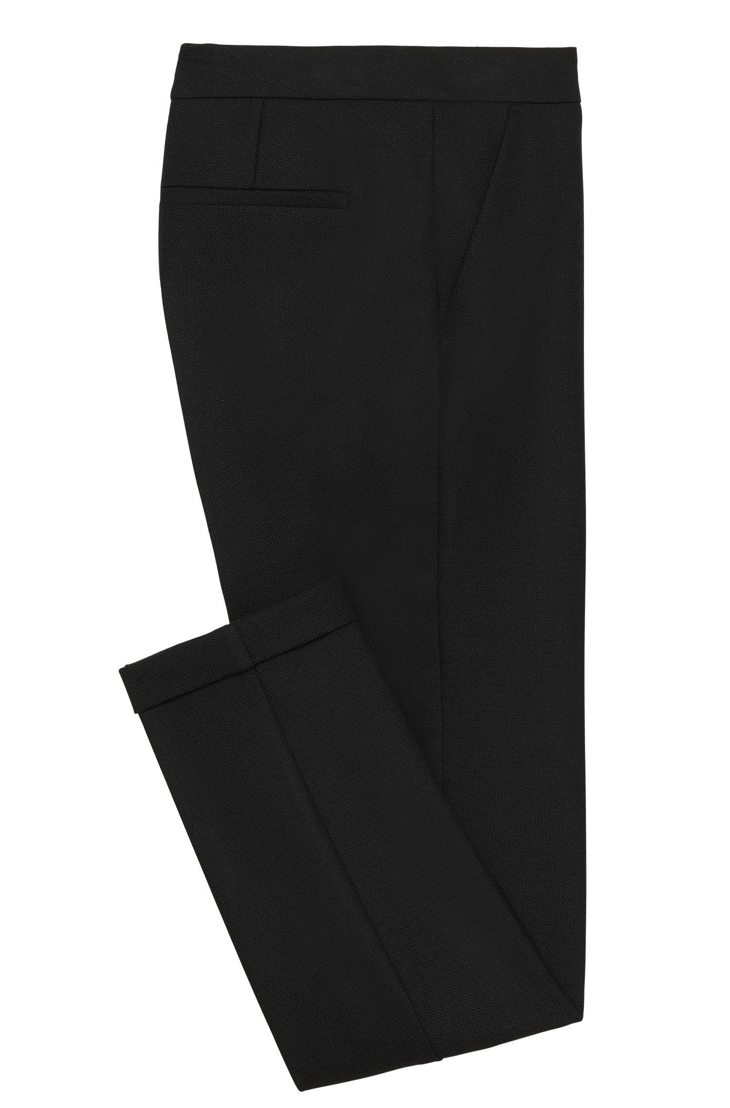 Regular-Fit Hose mit Bügelfalten: 'Acnes10'