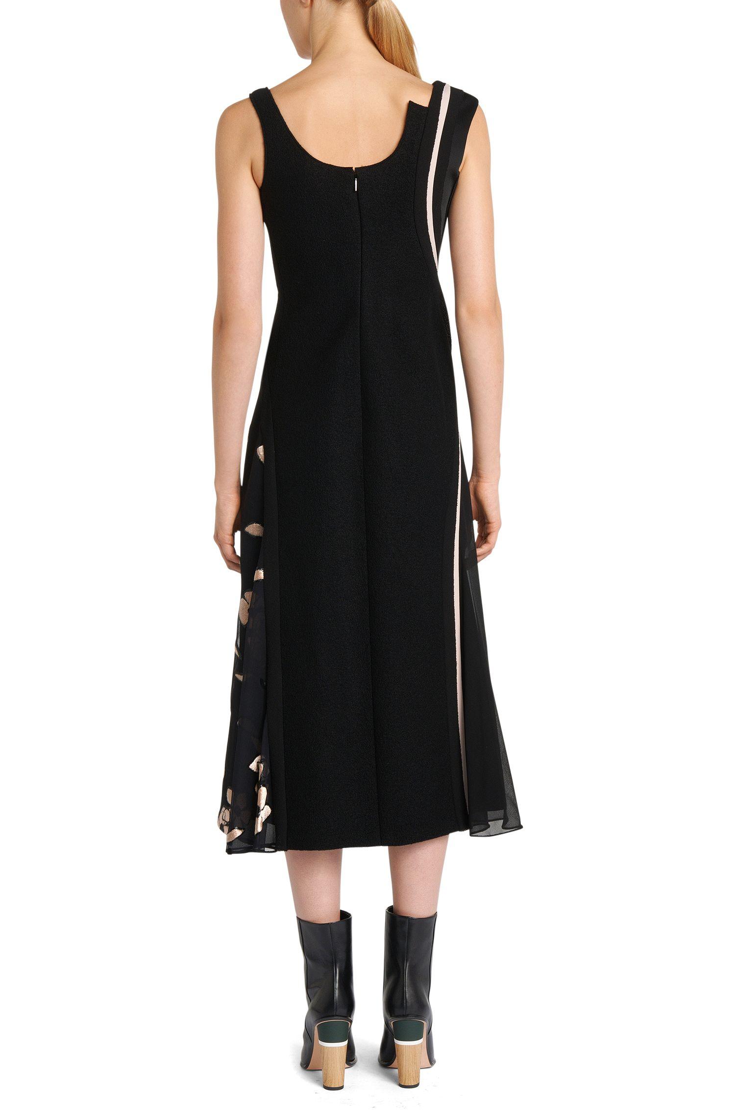 Runway Edition Kleid aus Viskose-Mix mit Seide: 'FS_Delveti'