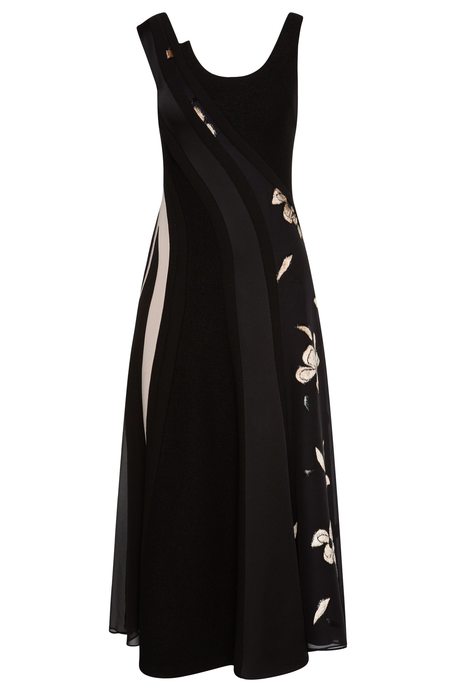 Runway Edition dress in viscose blend with silk: 'FS_Delveti'