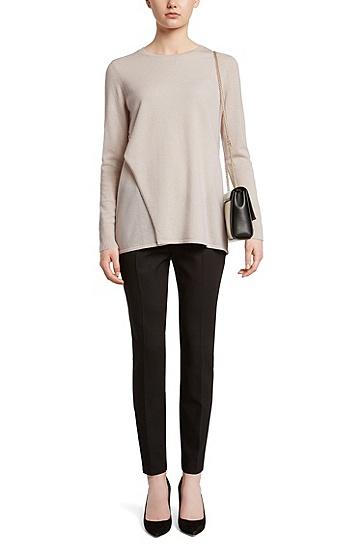 Pullover aus Kaschmir im Layer Look: 'Fidani', Hellbeige