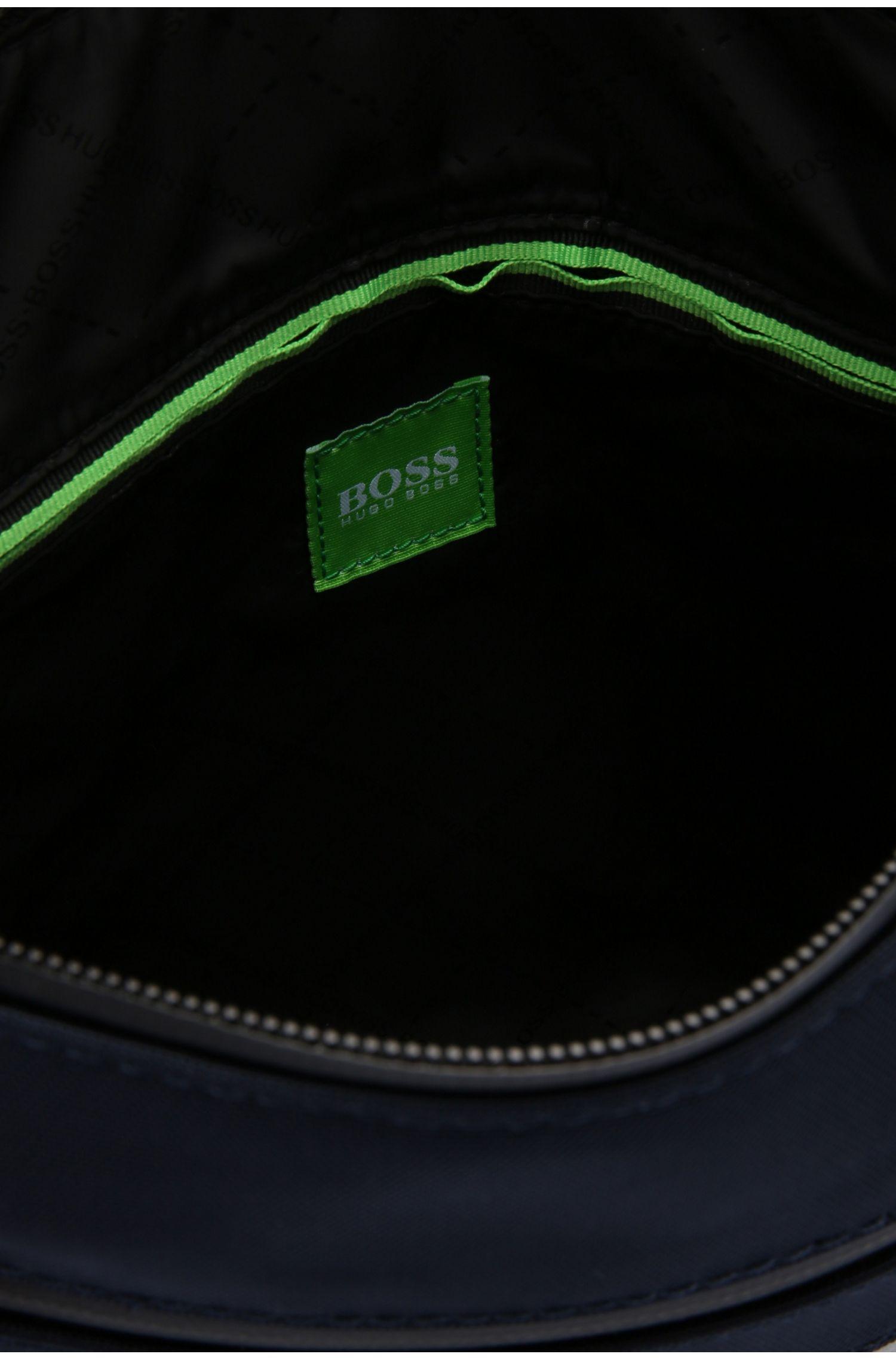 Kleine Umhängetasche aus Material-Mix im Logo-Design: ´Pixel JB zip env`