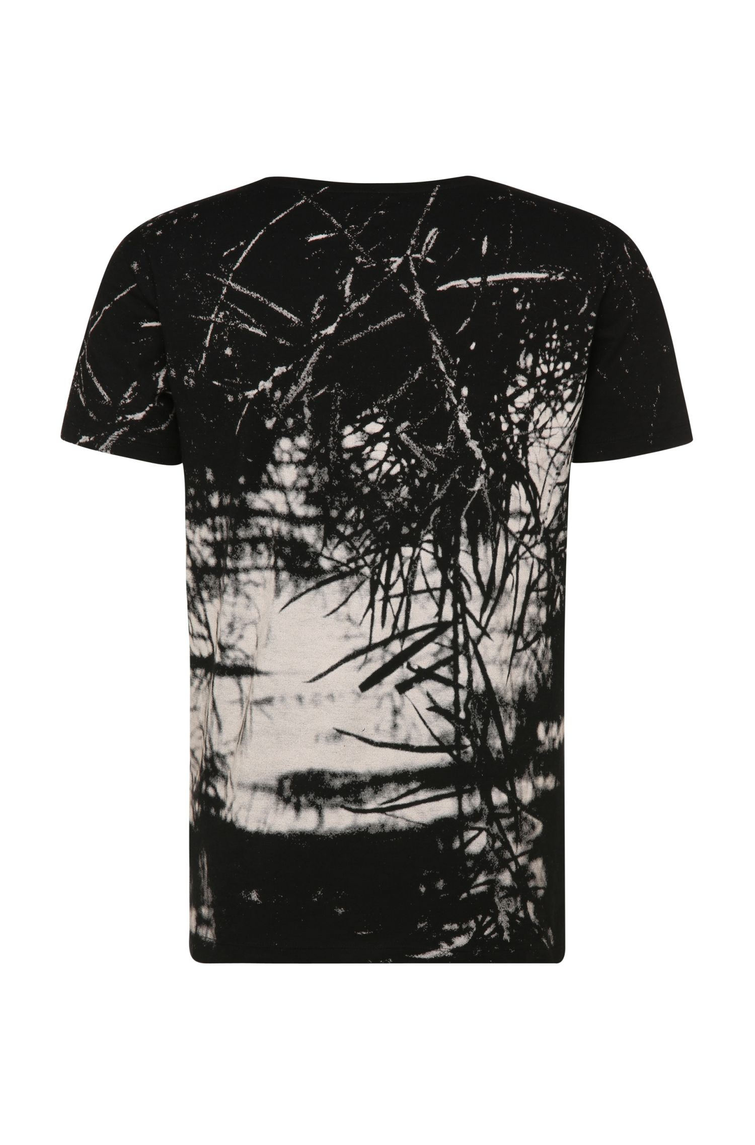 T-shirt Relaxed Fit en coton à imprimé: «Trueman»