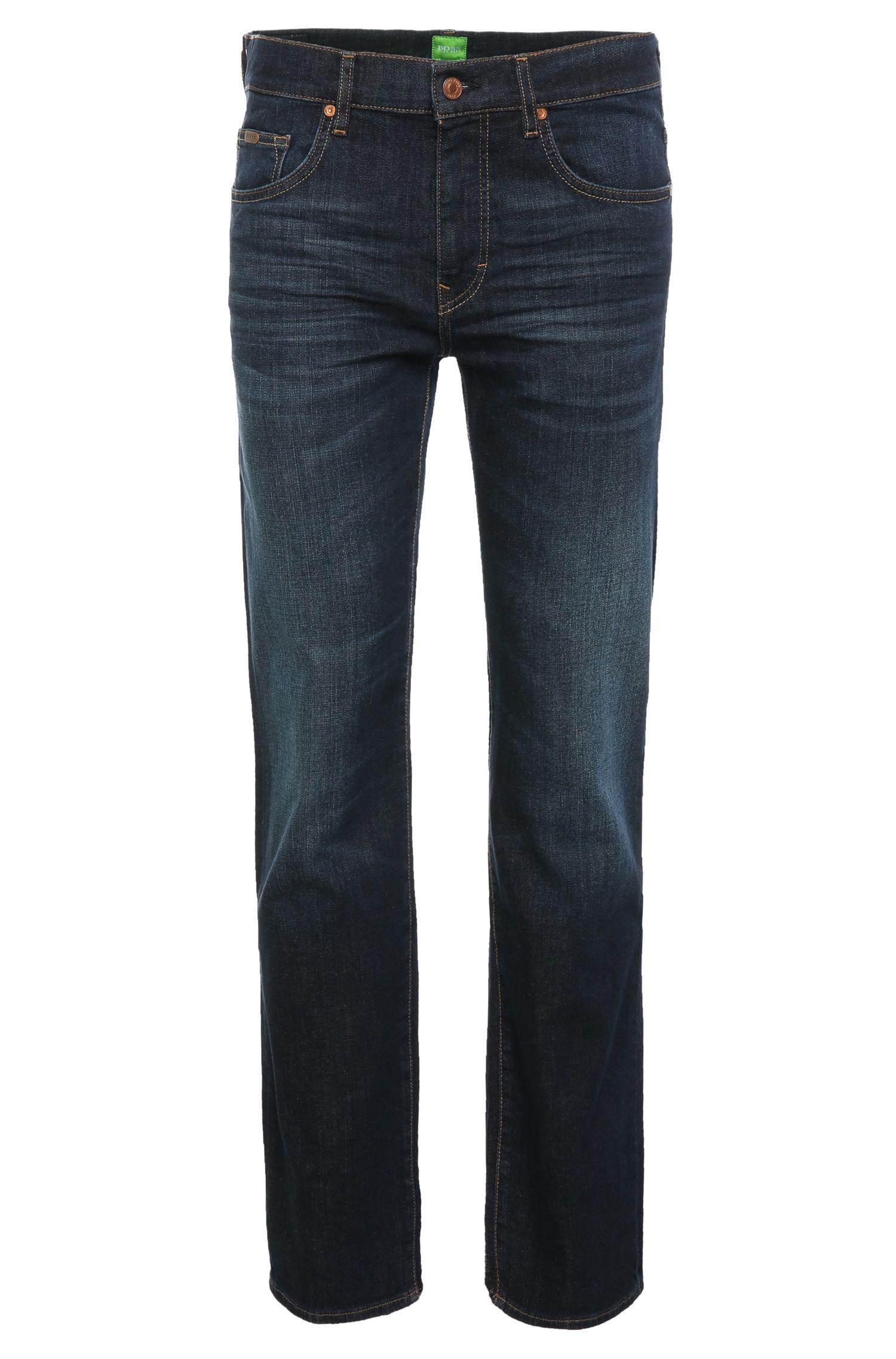 Jeans délavé Regular Fit en coton extensible: «C-KANSAS»