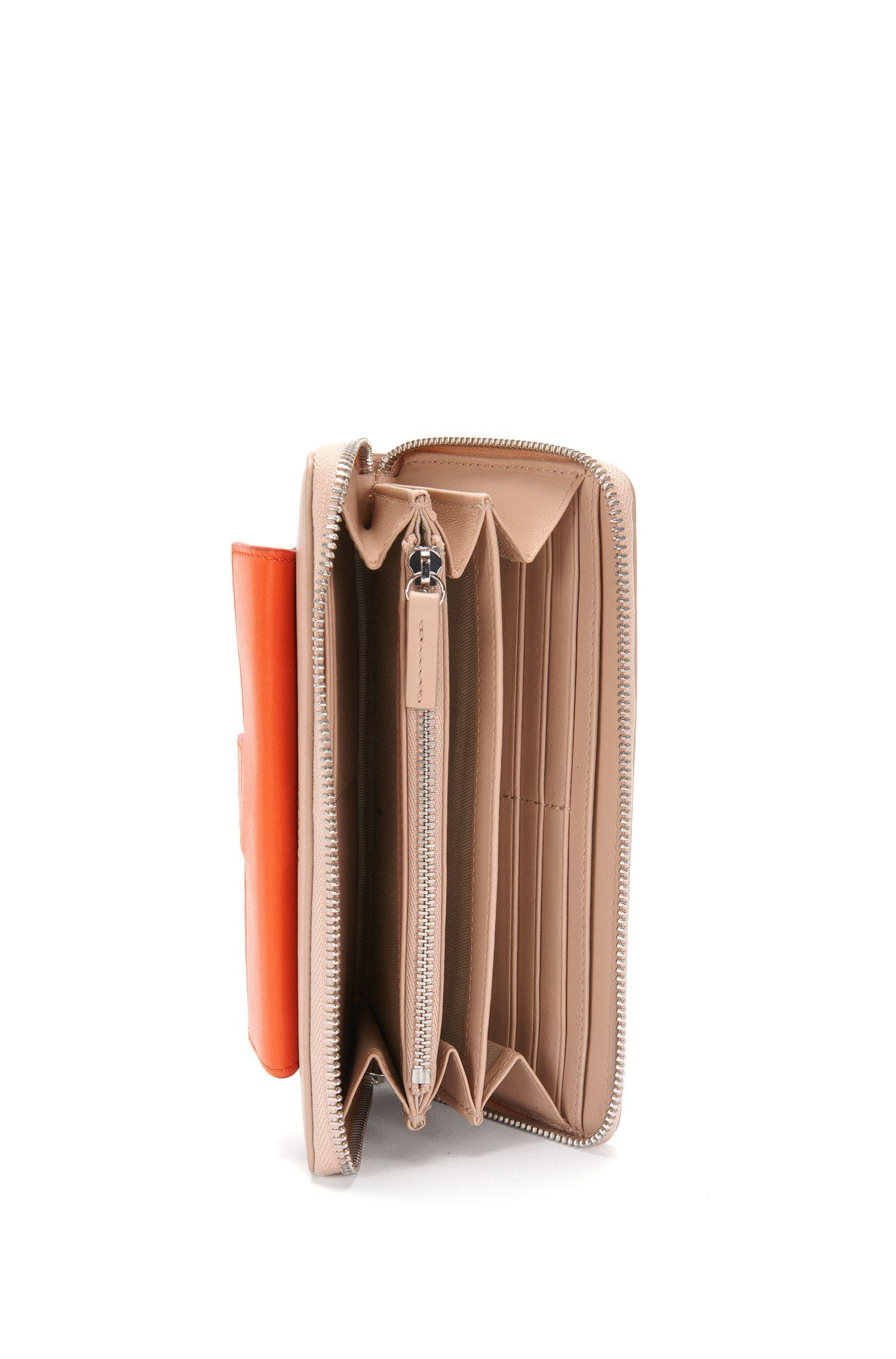 Geldbörse aus Leder im mehrfarbigen Dessin: 'Philo'