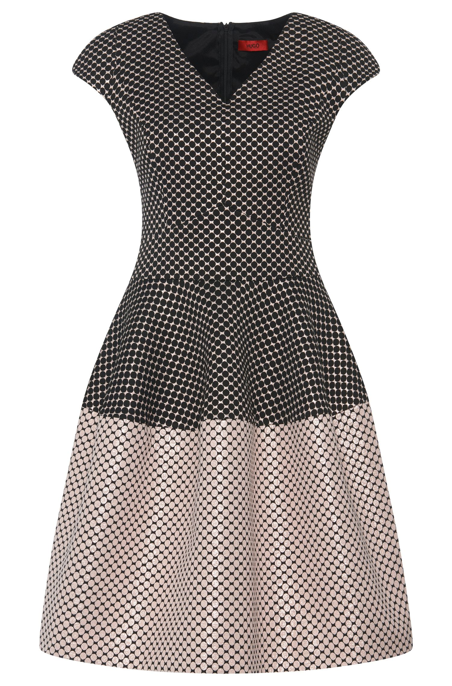 Dress in polka dot pattern: 'Konelly'