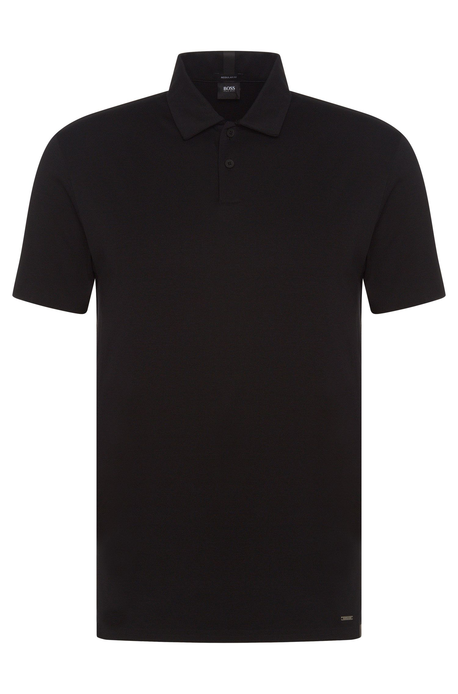 Regular-Fit Travel Line Poloshirt aus Baumwolle: 'Press 19'