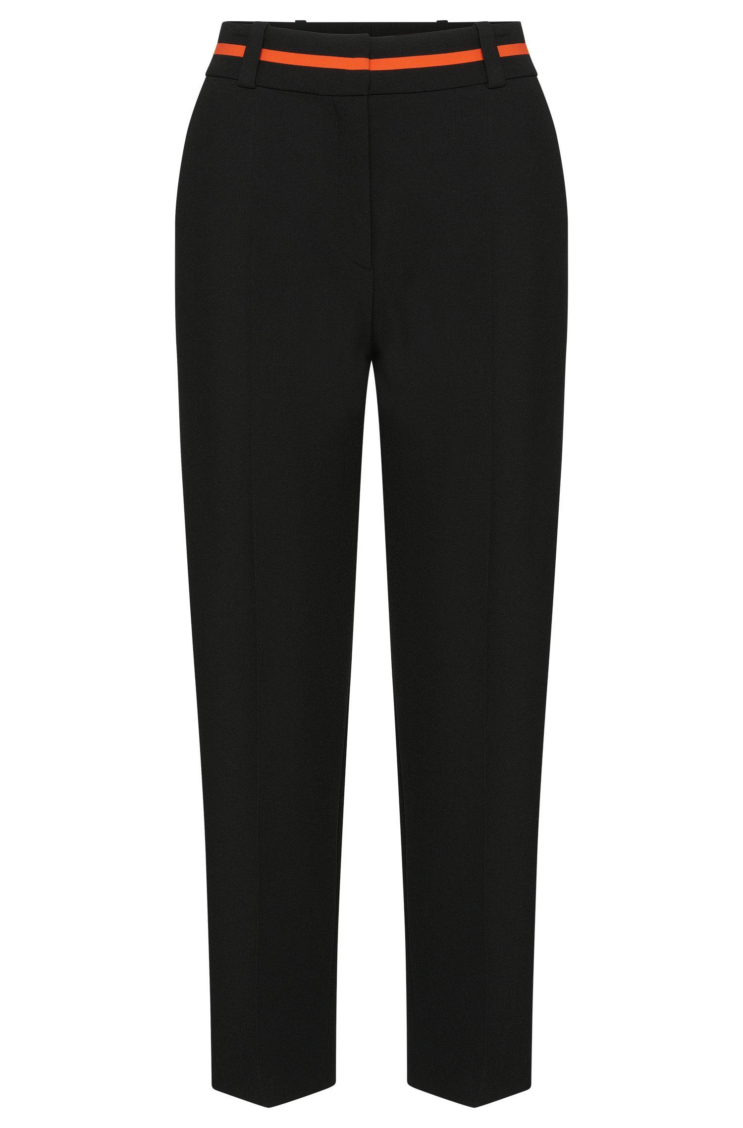 Hose im Culotte-Stil mit Kontrast-Detail am Bund: 'Hulina'