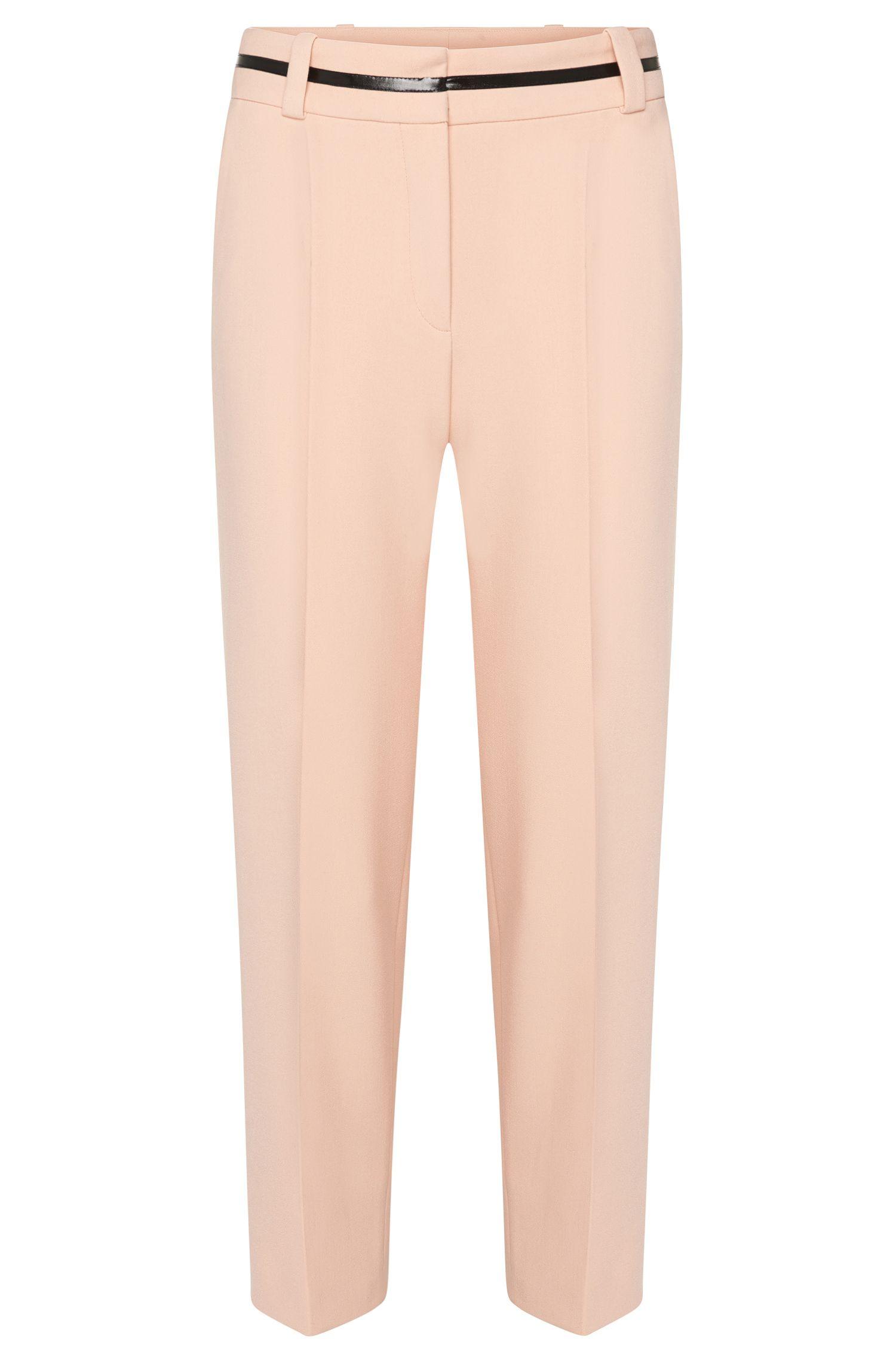 Pantalón estilo falda con detalle contrastado en la cintura: 'Hulina'