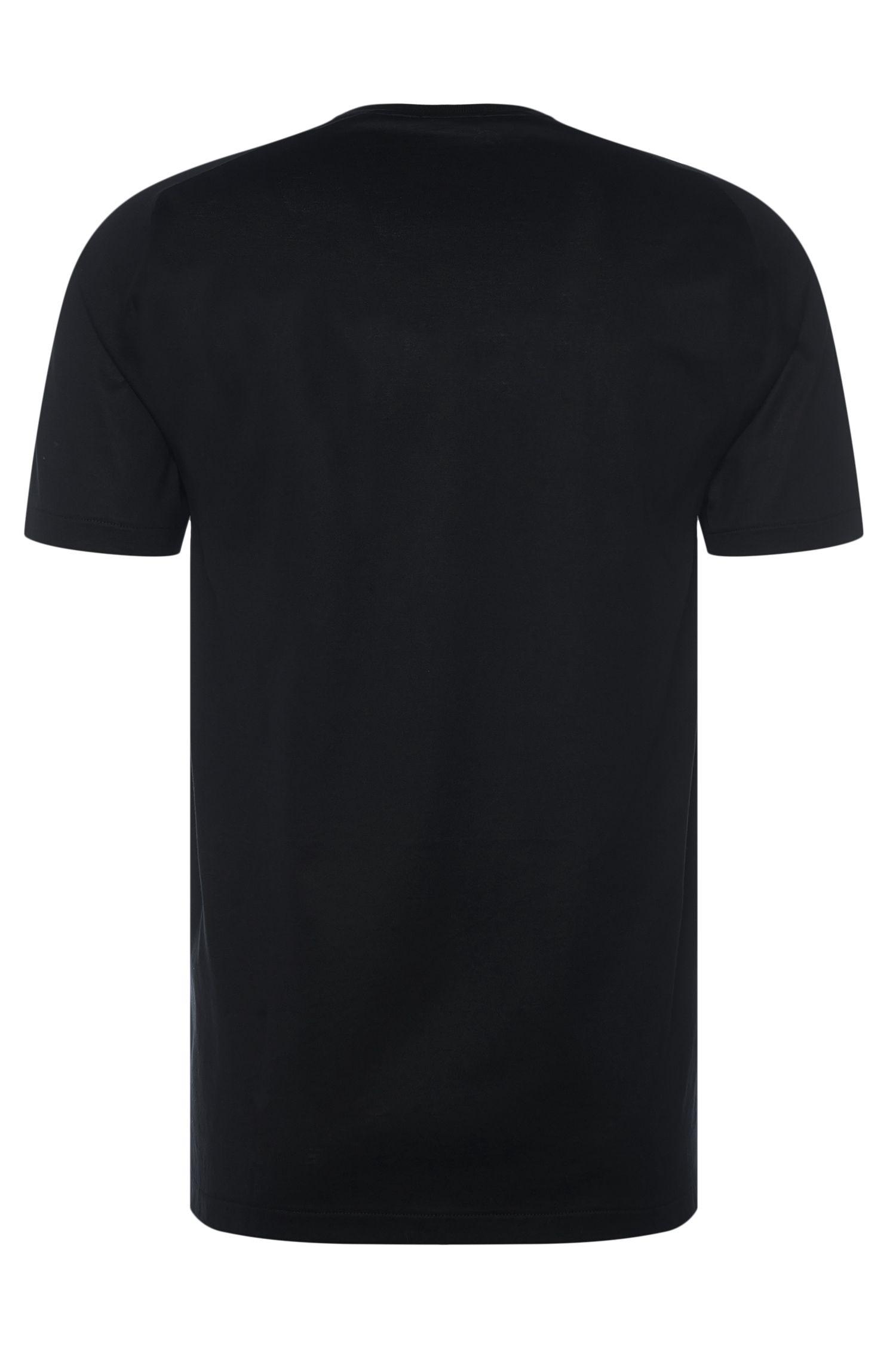 Effen slim-fit T-shirt van katoen: 'Tessler 40' uit de Mercedes-Benz-collectie