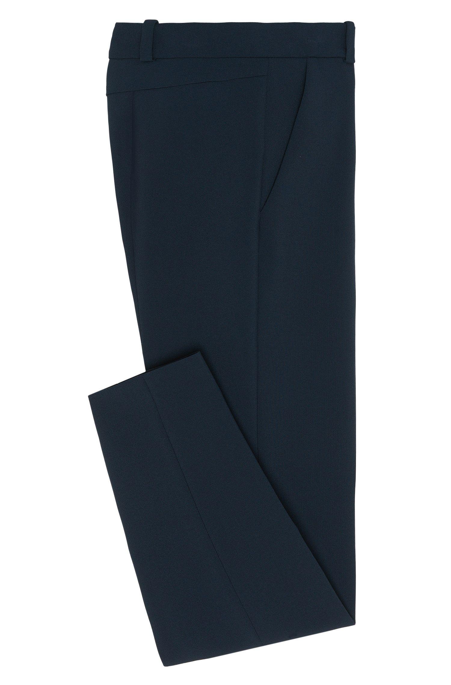 Gerade geschnittene Hose mit Bügelfalten: 'Havine'