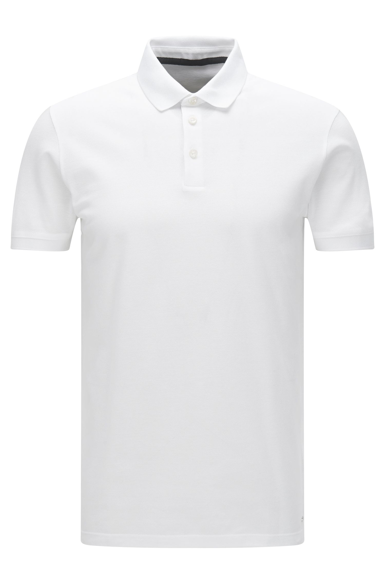 Slim-fit cotton polo shirt: 'Penrose 09-WS'