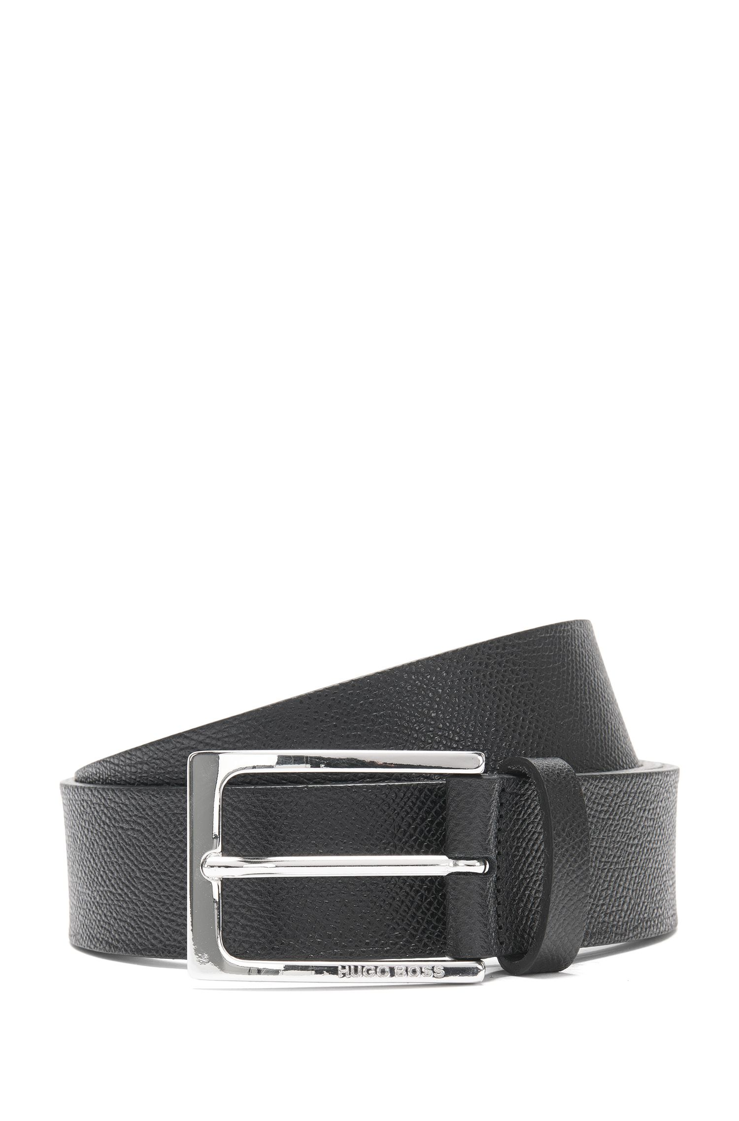 Belt in embossed leather: 'Carym_Sz35_Item'