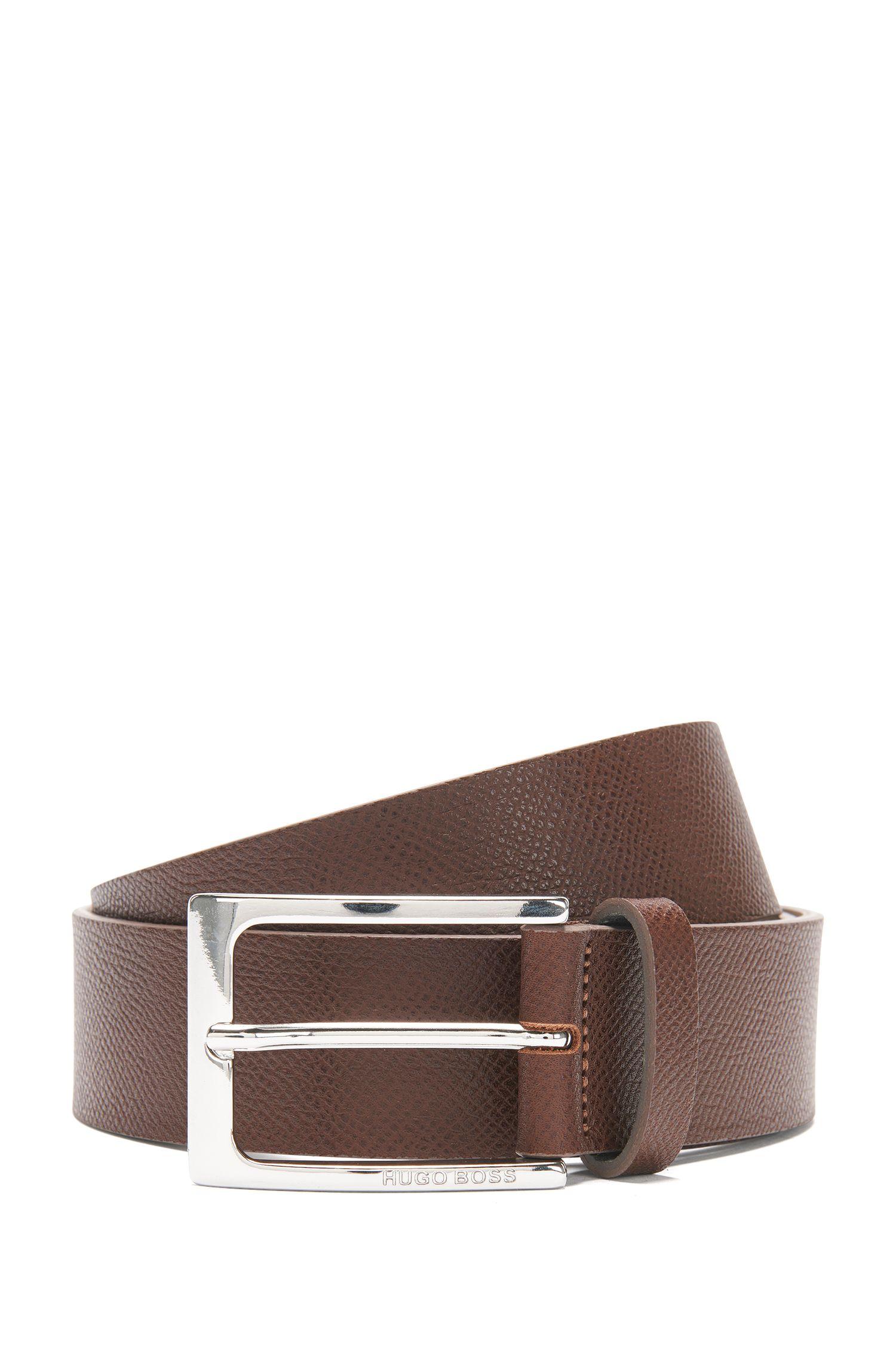 Belt in embossed leather: 'Carym_Sz35_Item'