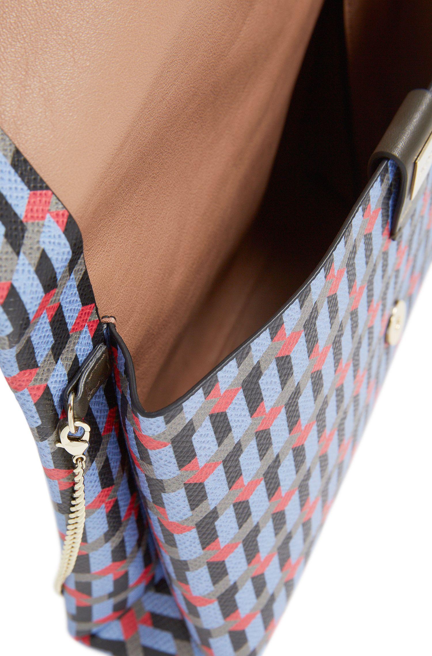 Sac à main à motif en cuir, avec bandoulière amovible: «Luxury S. Mini FP»