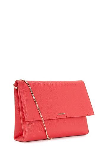 Handtasche aus Leder mit abnehmbarem Schulterriemen: 'Luxury S. Mini FPA', Pink