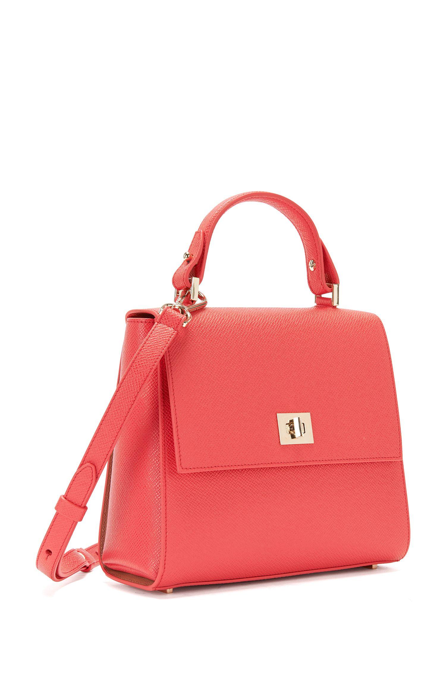 Kleinformatige BOSS Bespoke Handtasche aus Leder