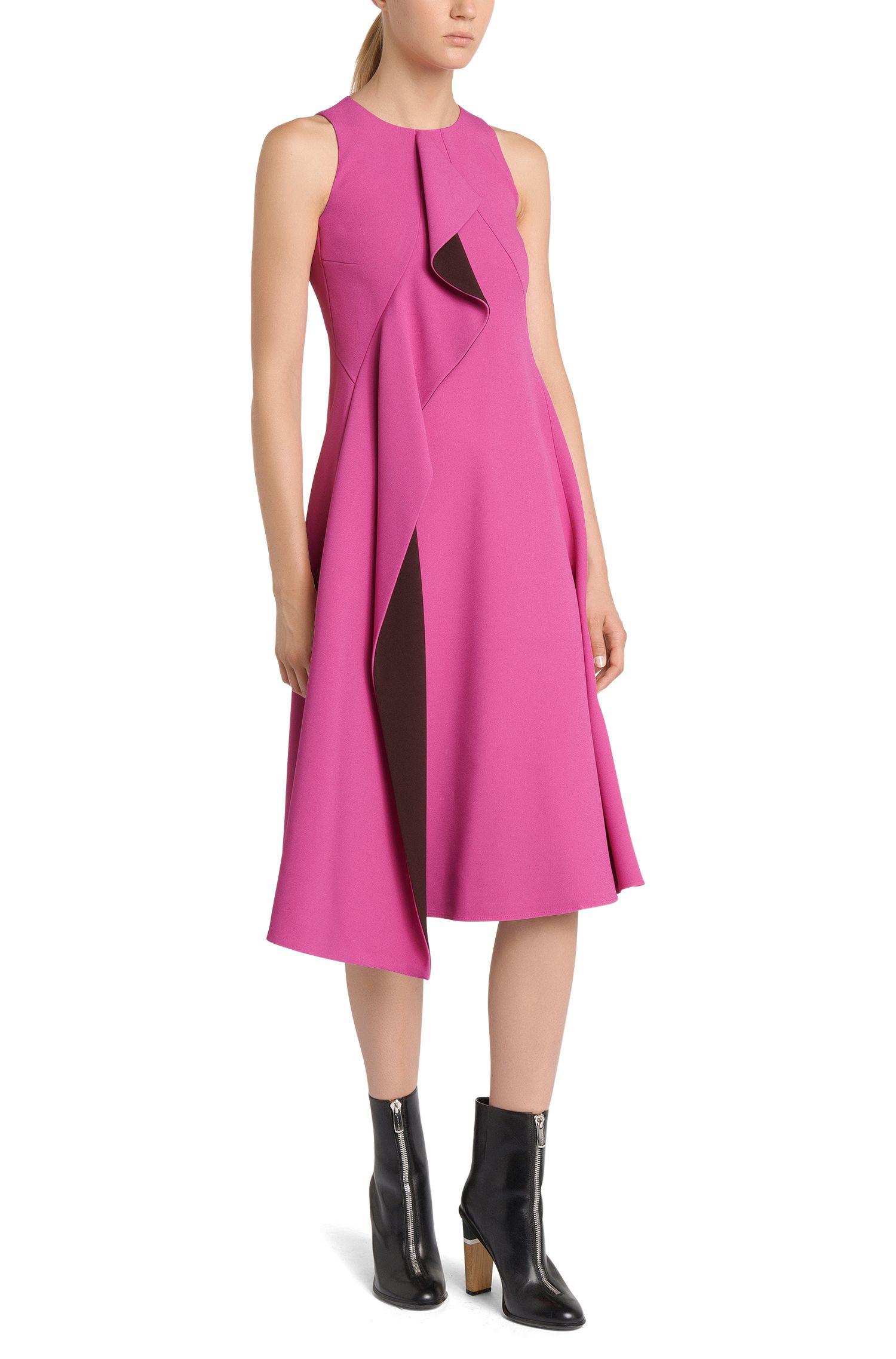 Runway Edition Kleid mit Volant-Besatz: 'FS_Dianea'