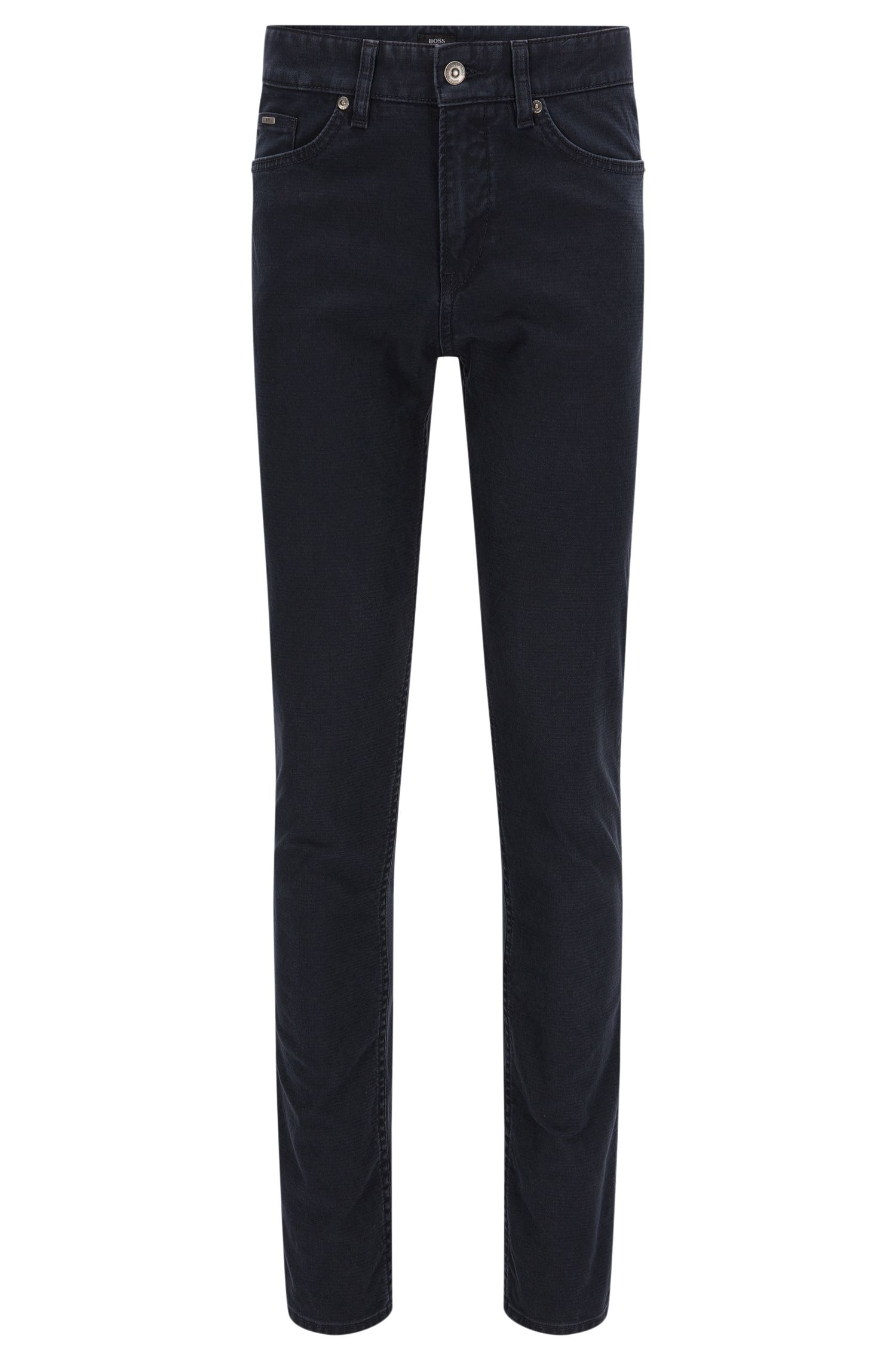Slim-fit jeans in stretch cotton: 'Delaware3-20'