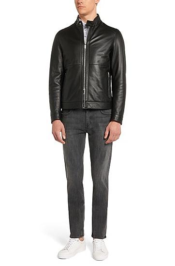 Slim-Fit Jeans aus Stretch-Baumwolle: 'Charleston3', Grau