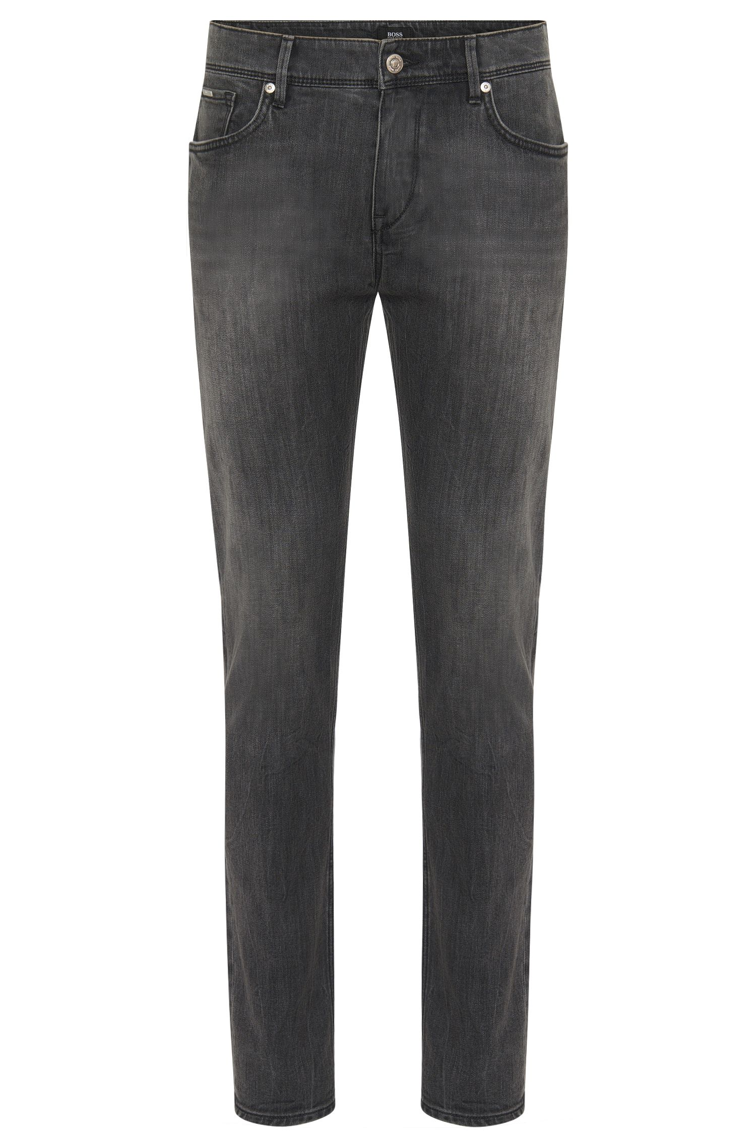 Slim-fit jeans van stretchkatoen: 'Charleston3'