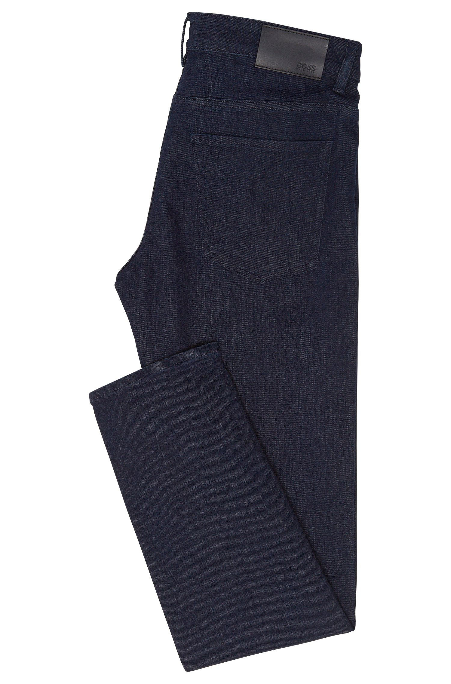 Jeans Slim Fit en coton mélangé extensible: «Delaware3-1»