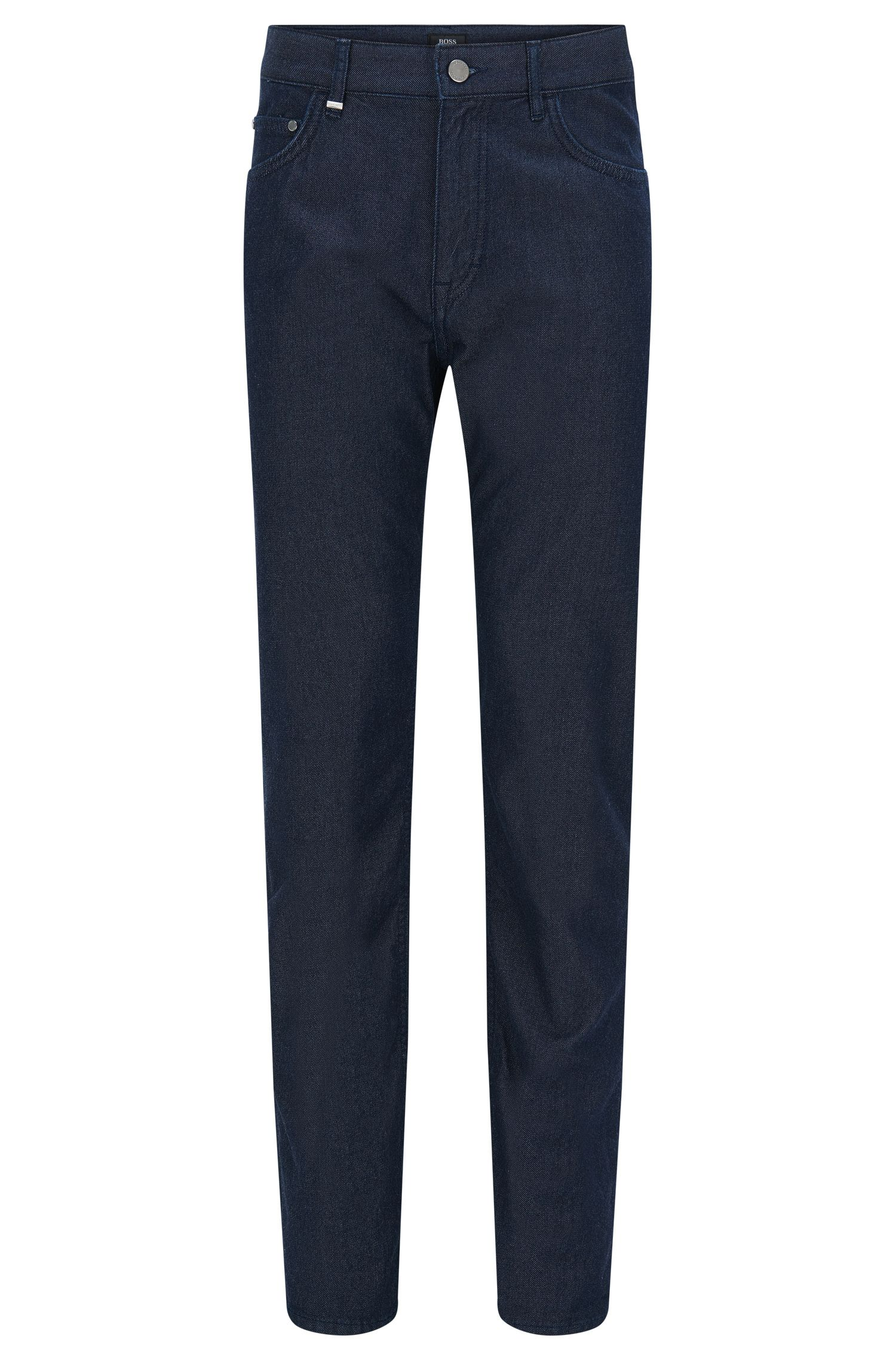 Relaxed-Fit Jeans aus Baumwoll-Mix mit Kaschmir in Rinsed-Optik: 'Albany'