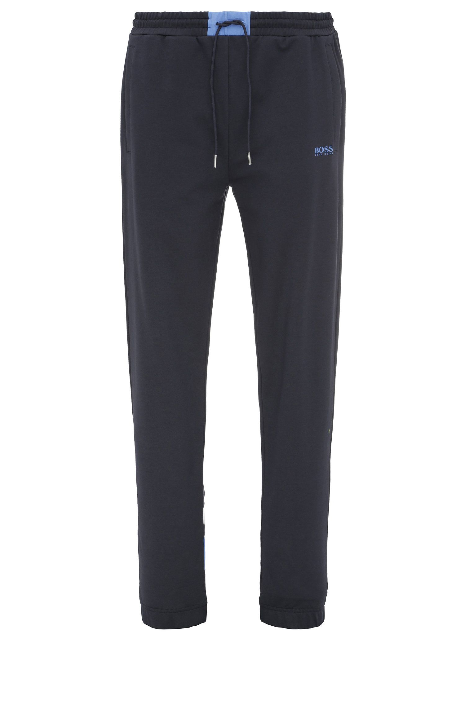 Pantaloni jogging regular fit in cotone con percentuale di elastan: 'Halko'