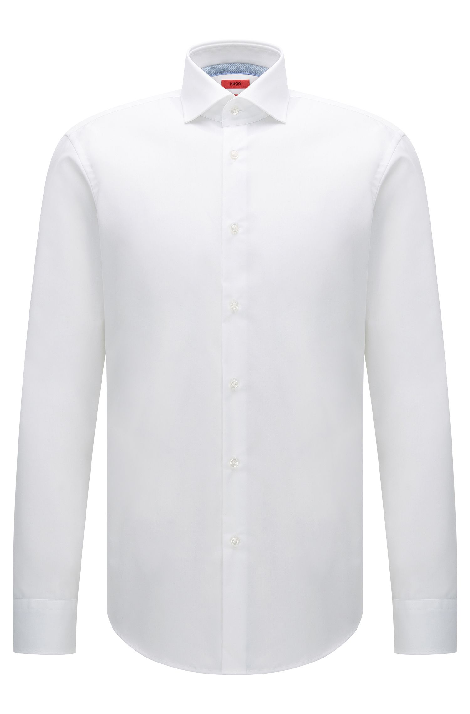 Regular-fit shirt in easy-iron cotton: 'C-Eracli'