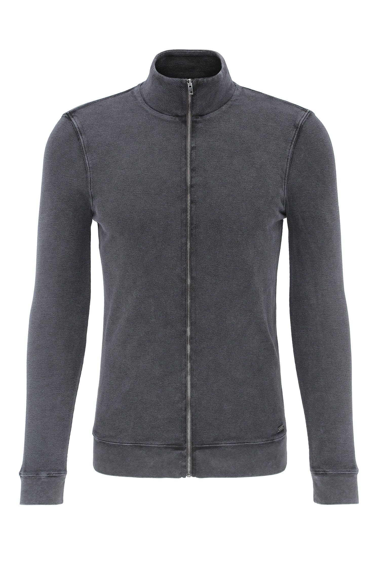 Blouson sweat Slim Fit en coton : « Zantana »