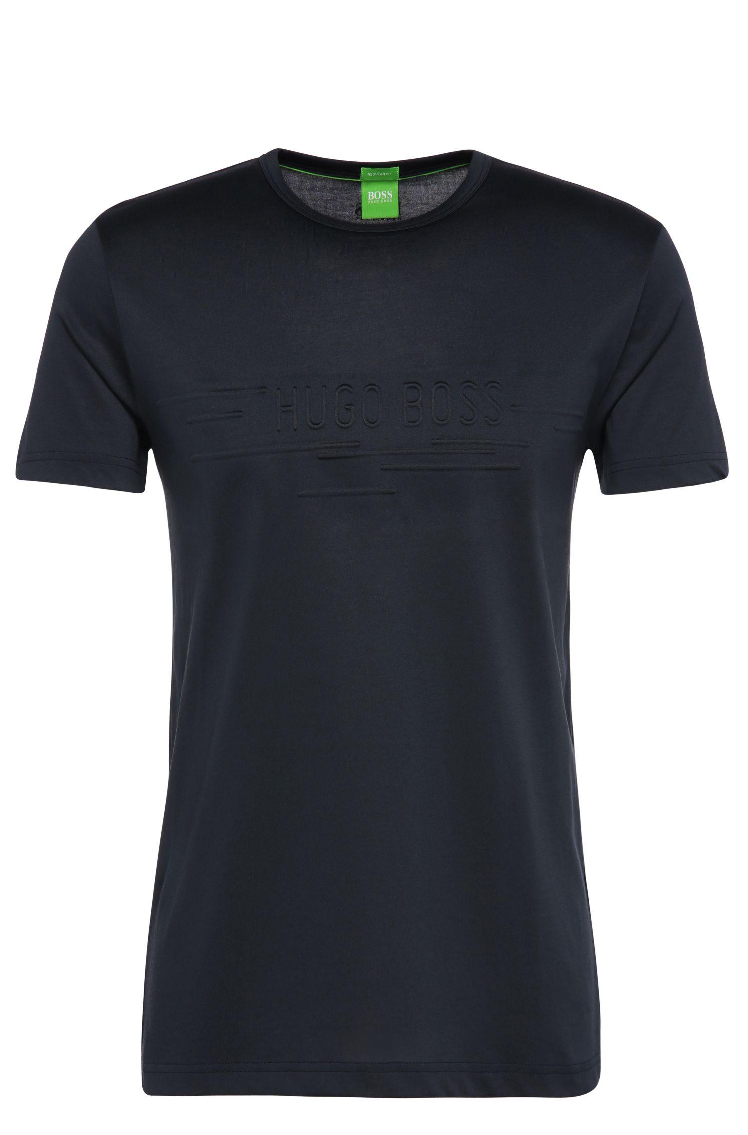 Regular-Fit T-Shirt aus Baumwoll-Mix: ´Tee 9`