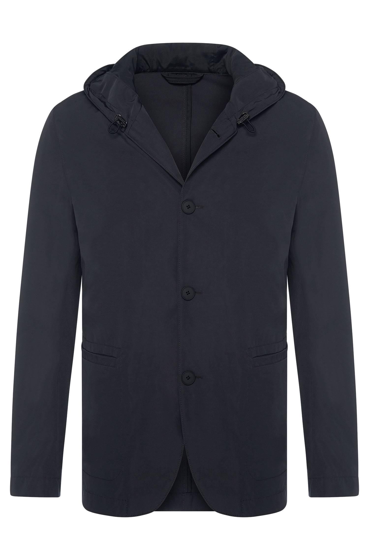 Hooded jacket in tailored jacket style `JosseW`